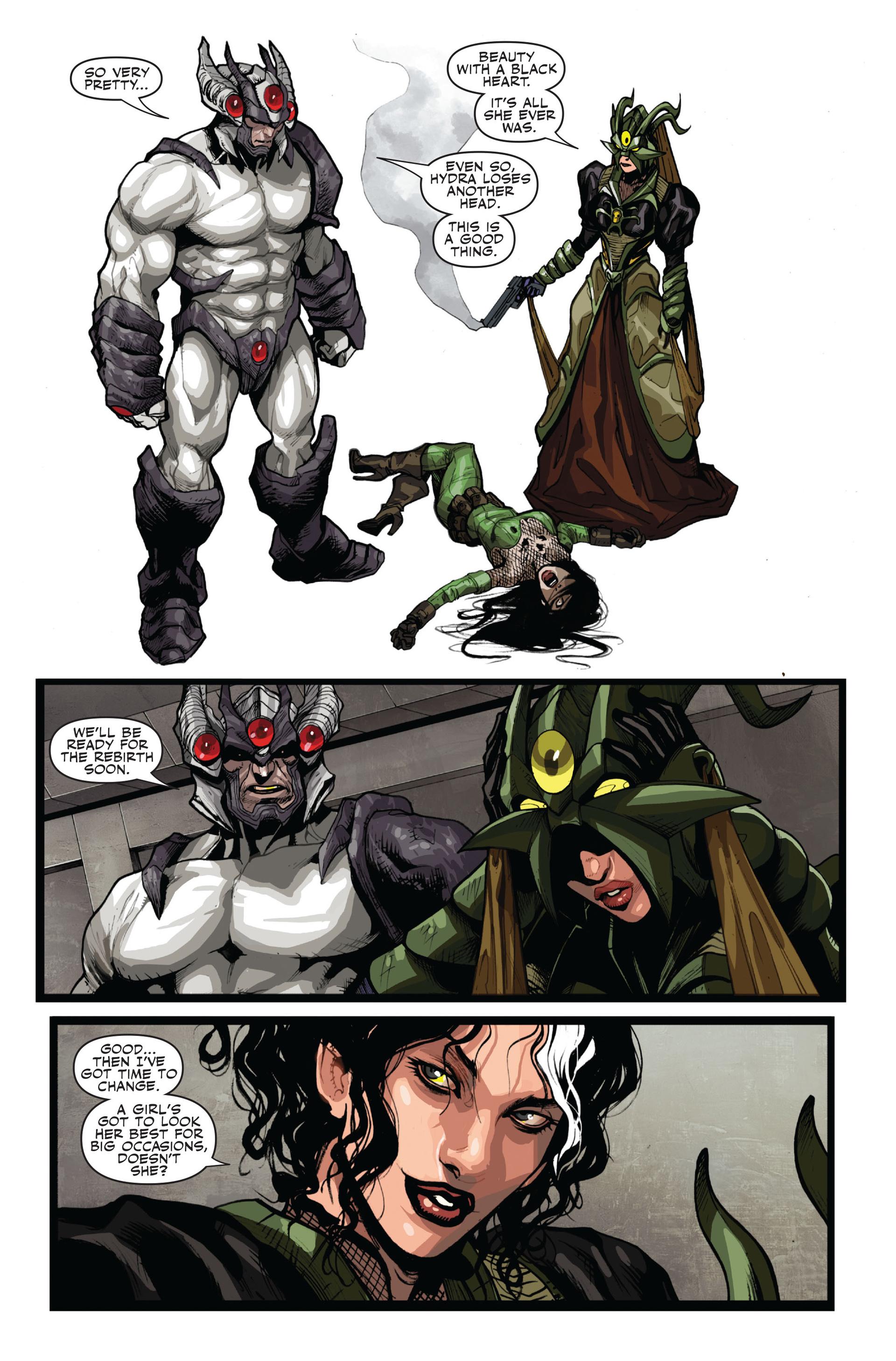Read online Secret Warriors comic -  Issue #14 - 10