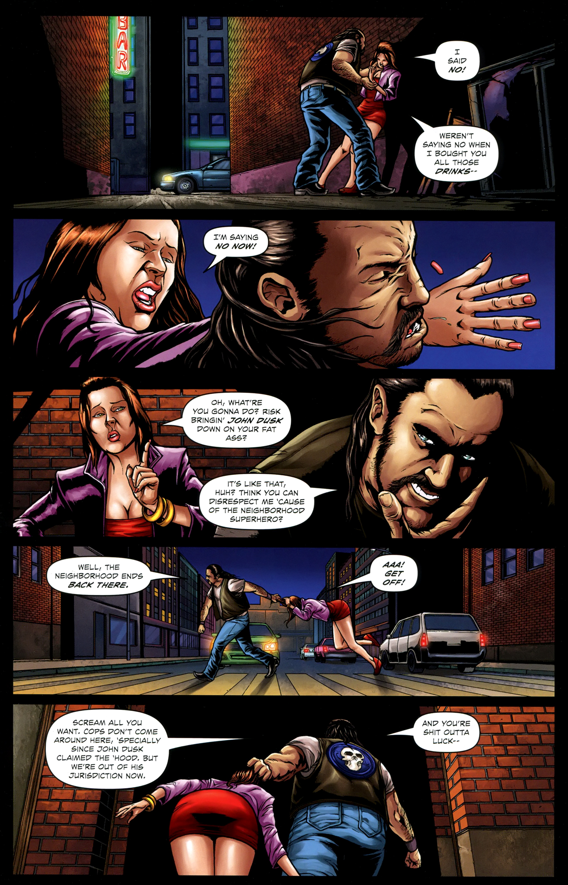 Read online Absolution: Rubicon comic -  Issue #4 - 7
