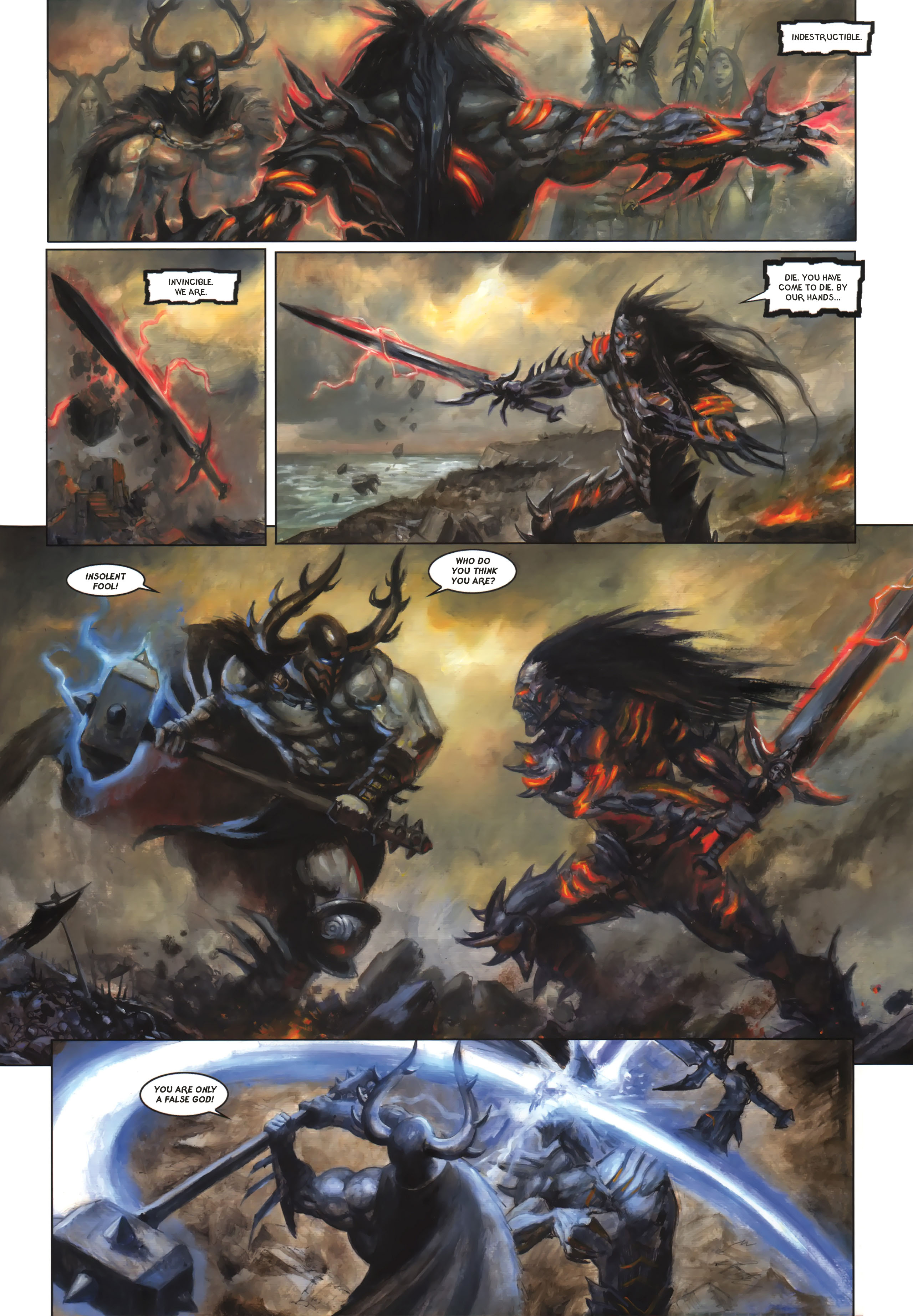 Read online Arawn comic -  Issue #6 - 14