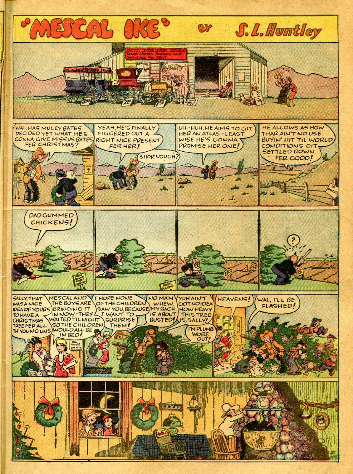 Read online Famous Funnies comic -  Issue #41 - 53