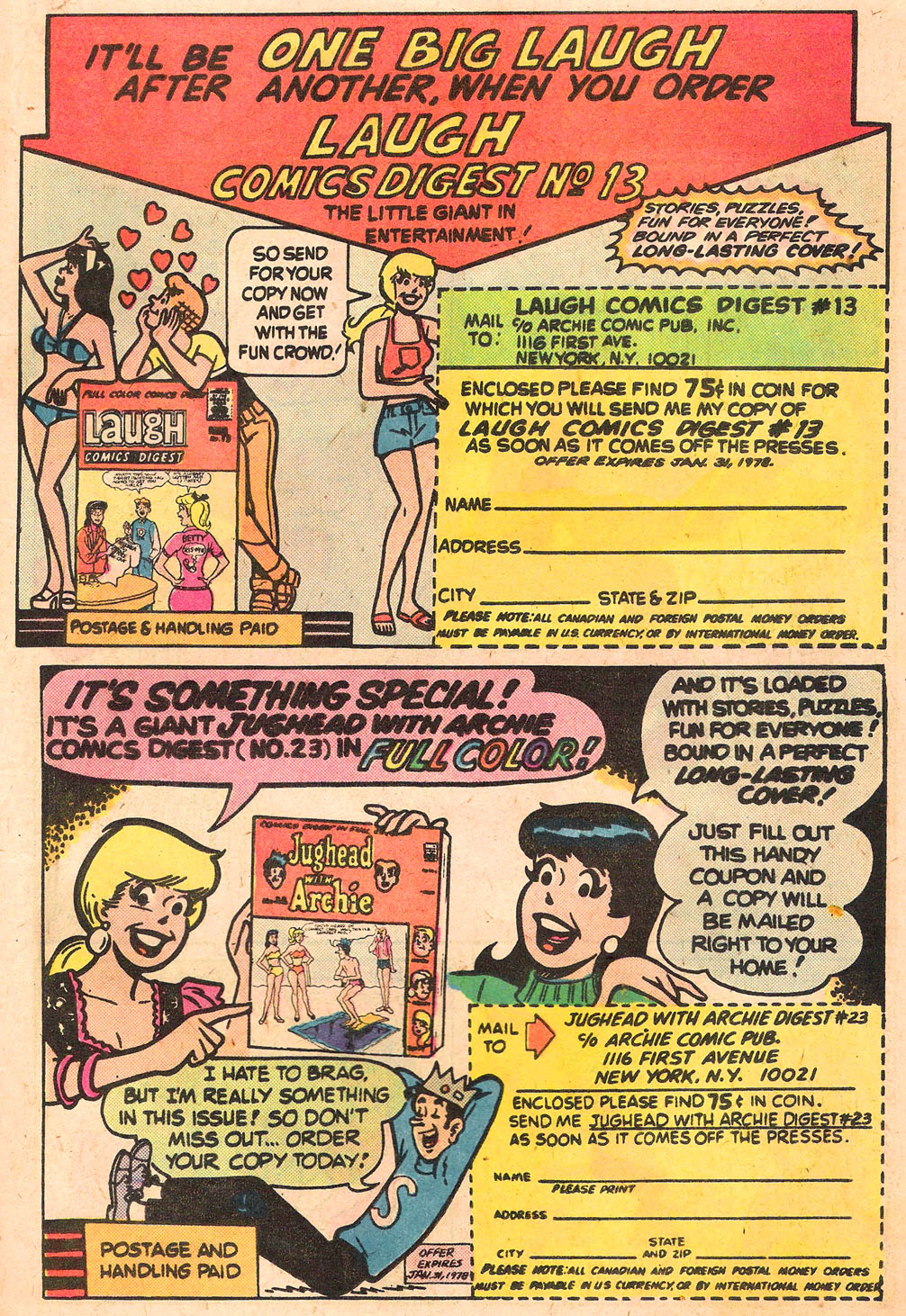 Read online Archie's Girls Betty and Veronica comic -  Issue #262 - 19