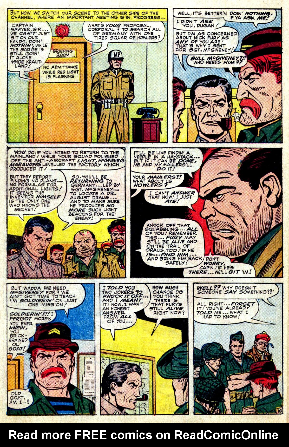 Read online Sgt. Fury comic -  Issue #27 - 26