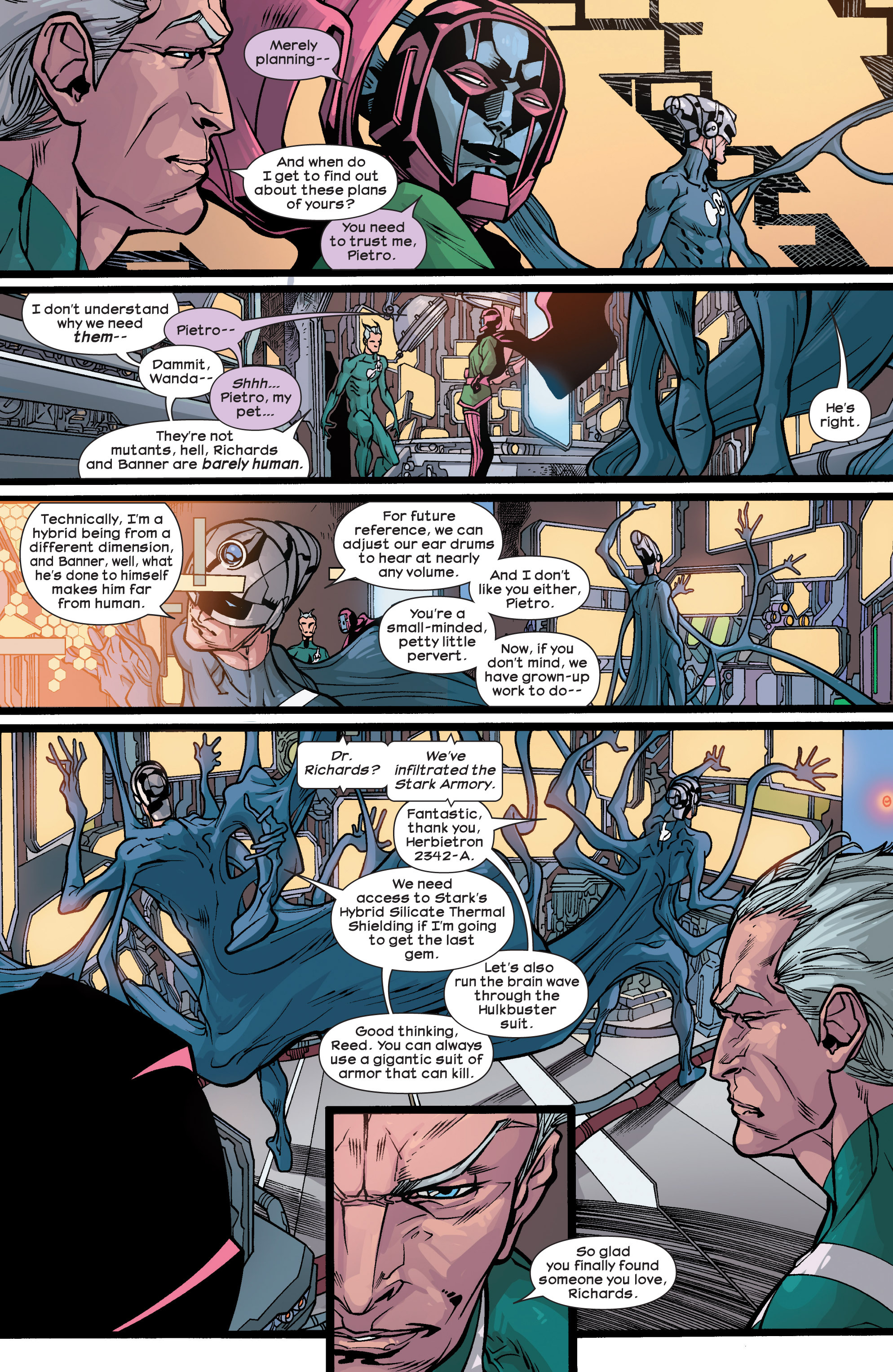Read online Ultimate Comics Ultimates comic -  Issue #28 - 11