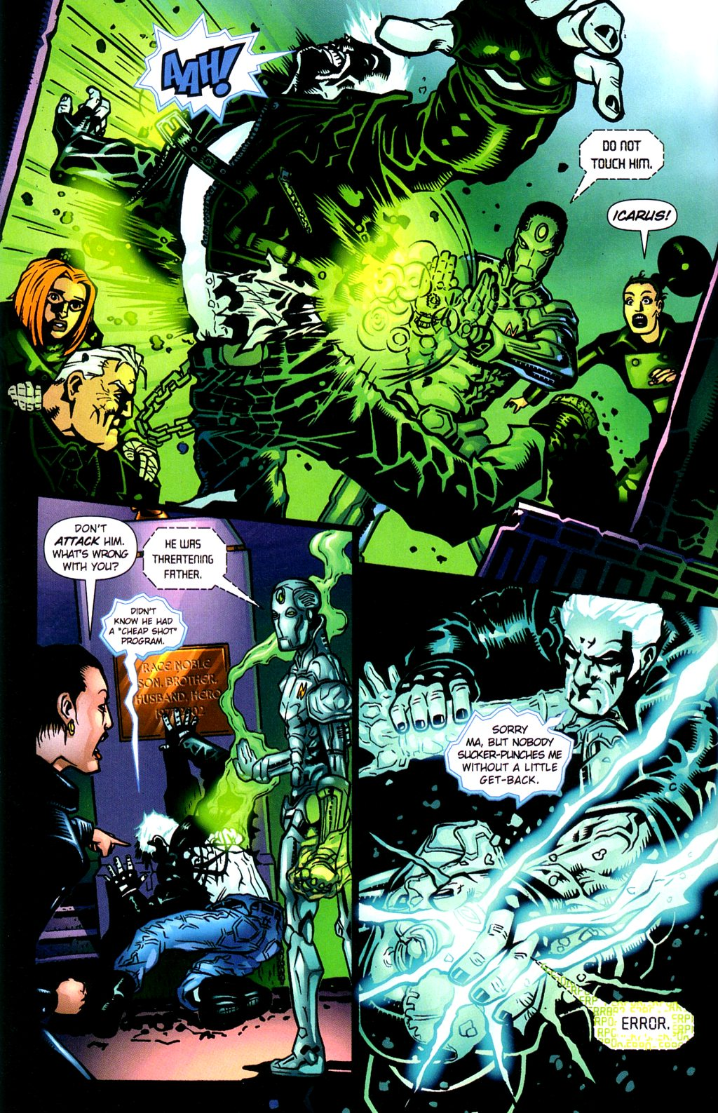 Read online Noble Causes (2002) comic -  Issue #2 - 11