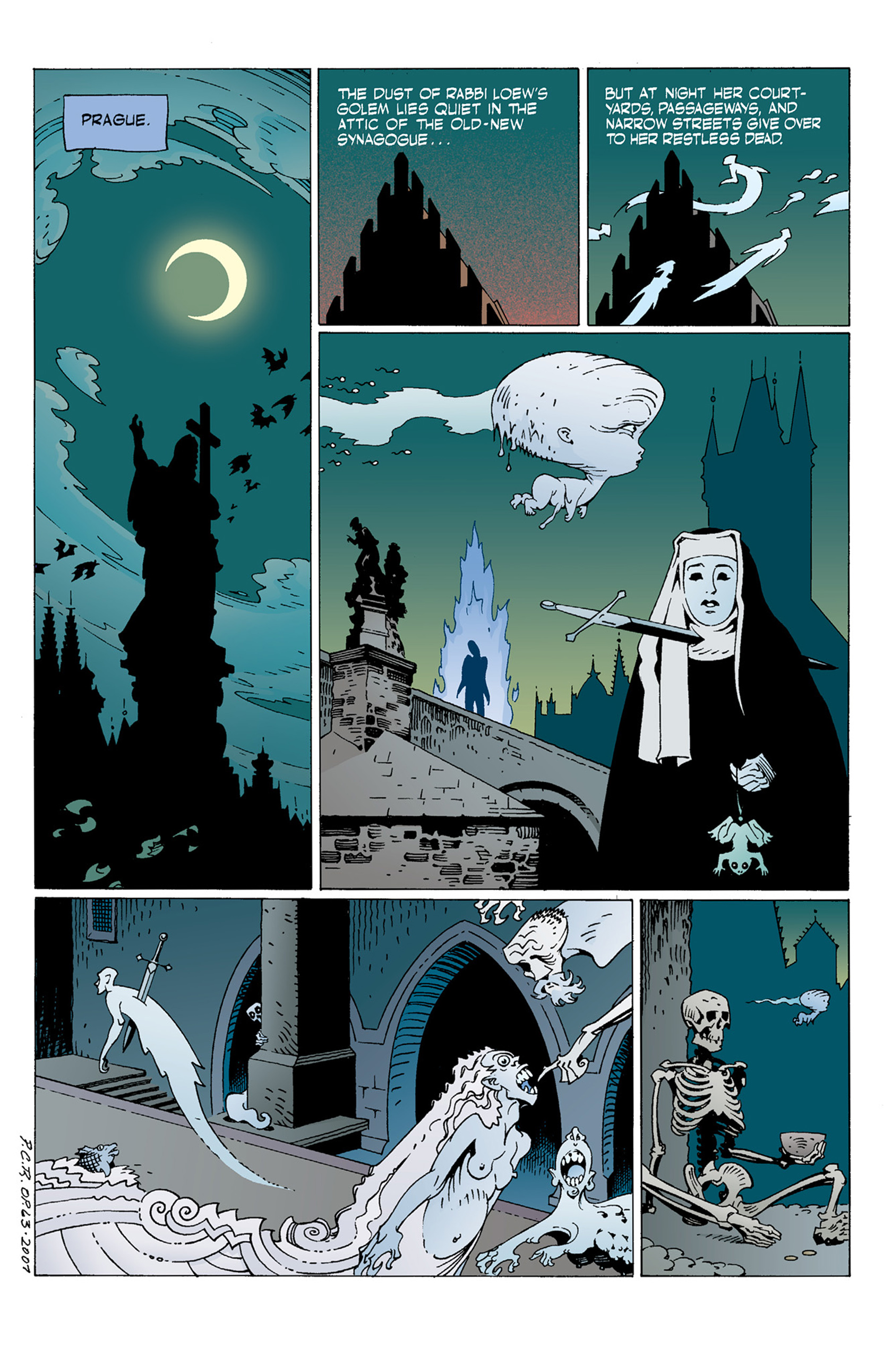 Read online Hellboy: The Troll Witch and Others comic -  Issue # TPB - 37