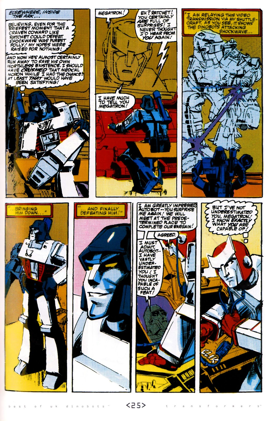 Read online The Transformers: Best of UK: Dinobots comic -  Issue #6 - 28