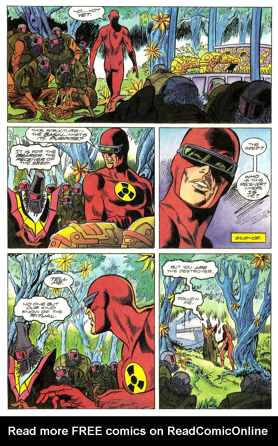 Read online Solar, Man of the Atom comic -  Issue #17 - 8