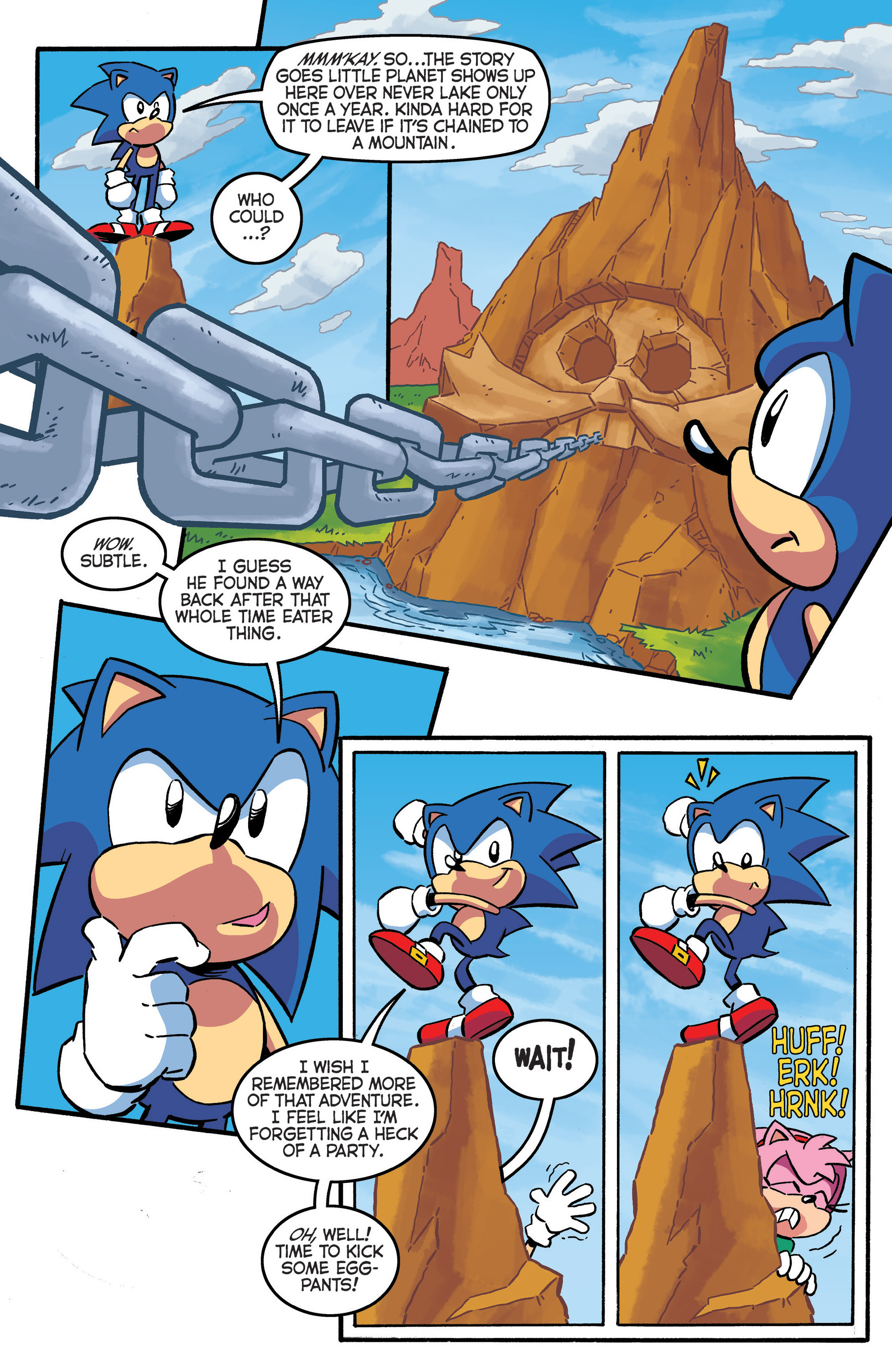 Read online Sonic The Hedgehog comic -  Issue #290 - 5