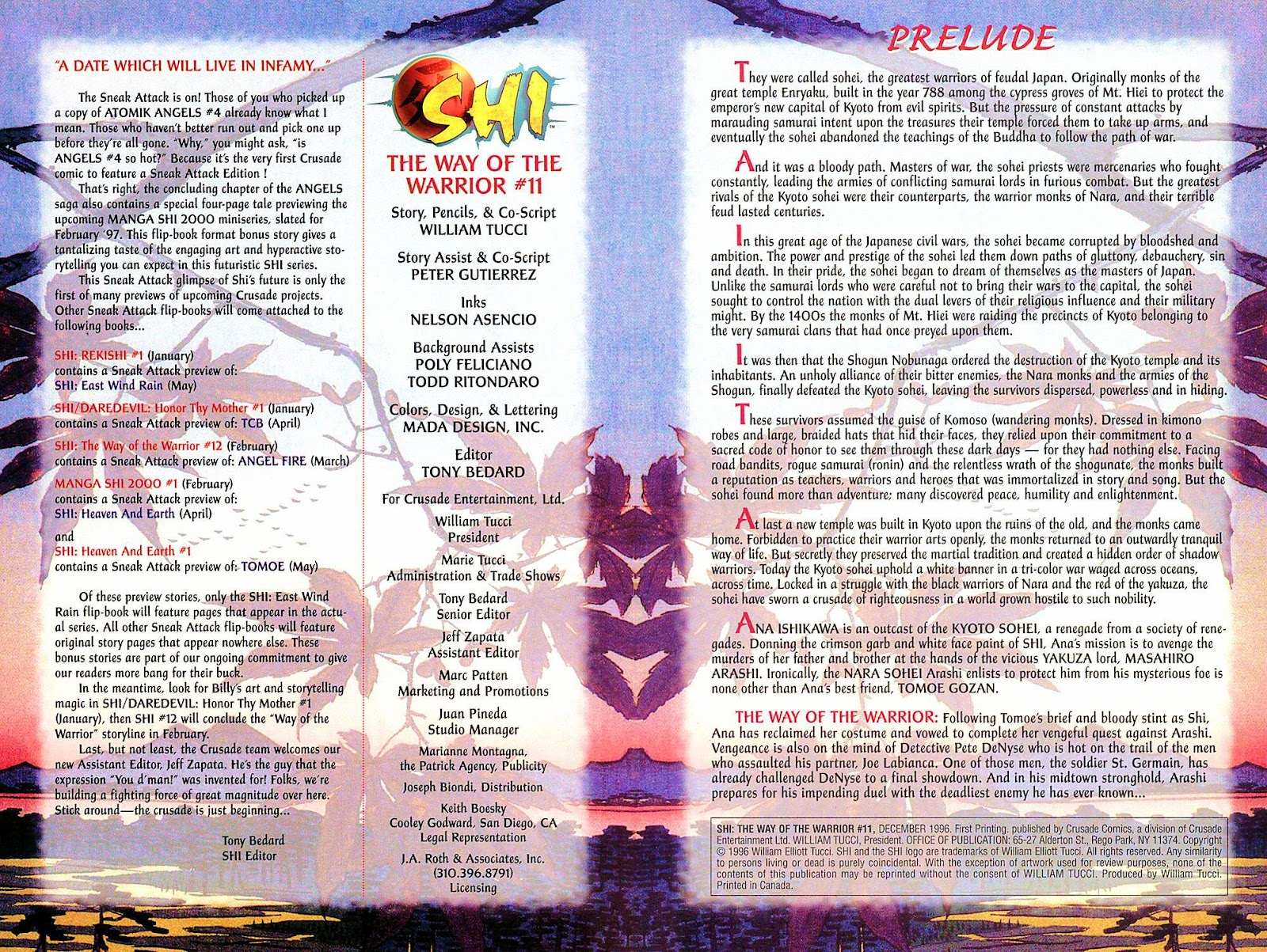 Shi: The Way of the Warrior Issue #11 #11 - English 2