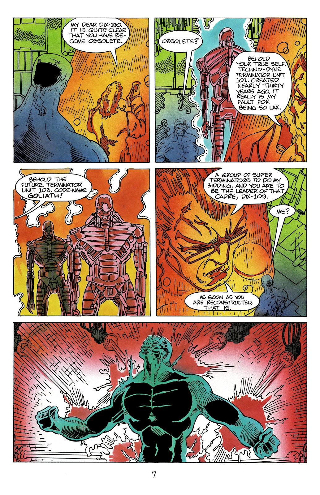 The Terminator (1988) issue 11 - Page 9