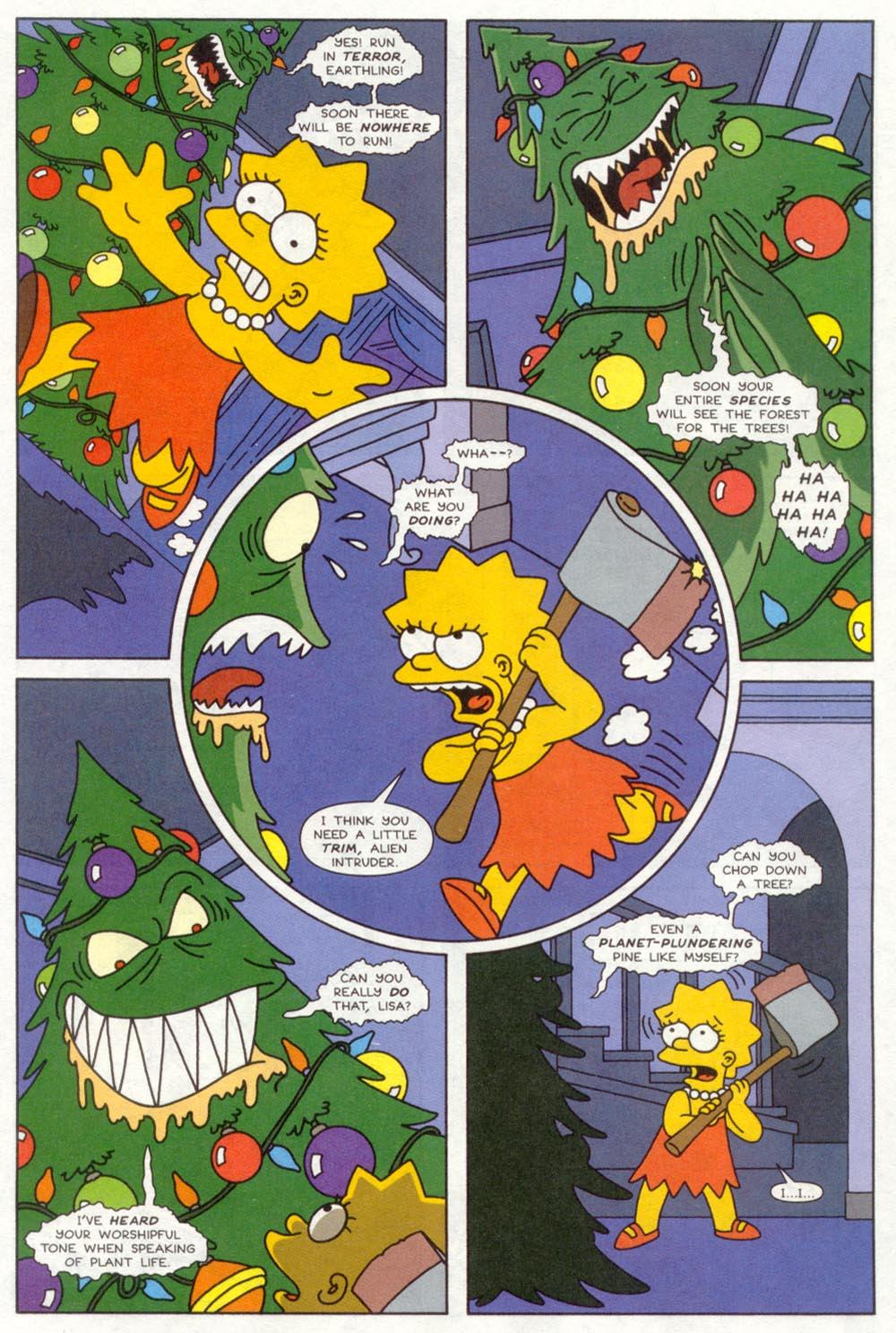 Read online Treehouse of Horror comic -  Issue #4 - 10