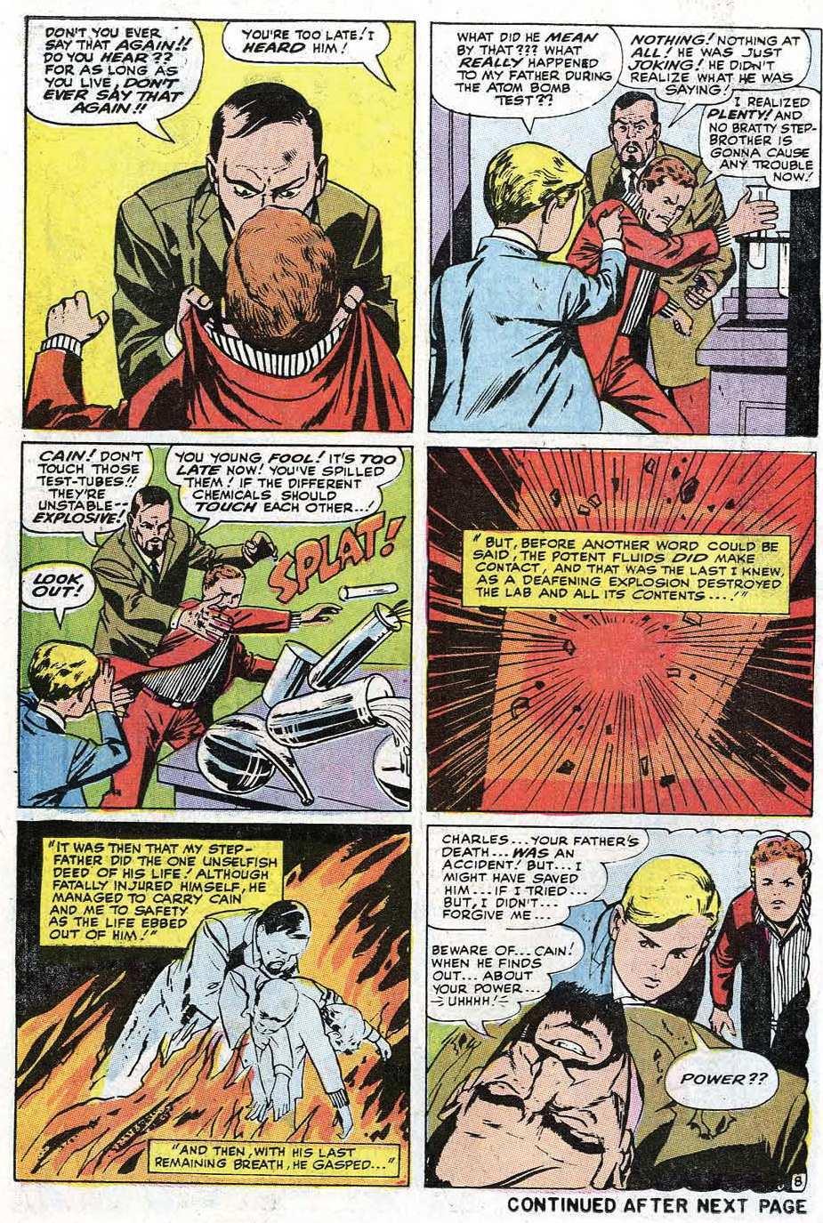 Read online Uncanny X-Men (1963) comic -  Issue #67 - 10
