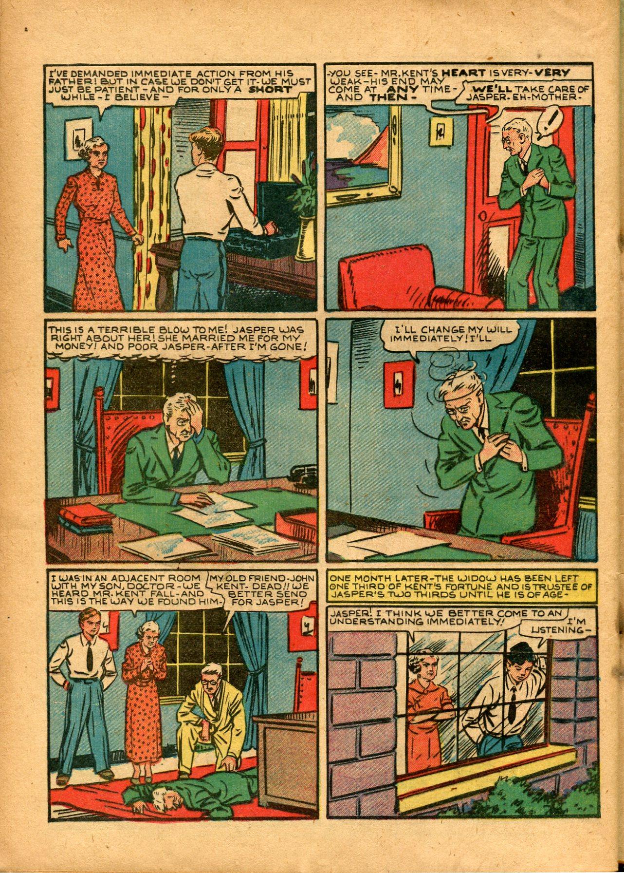 Read online Shadow Comics comic -  Issue #8 - 52