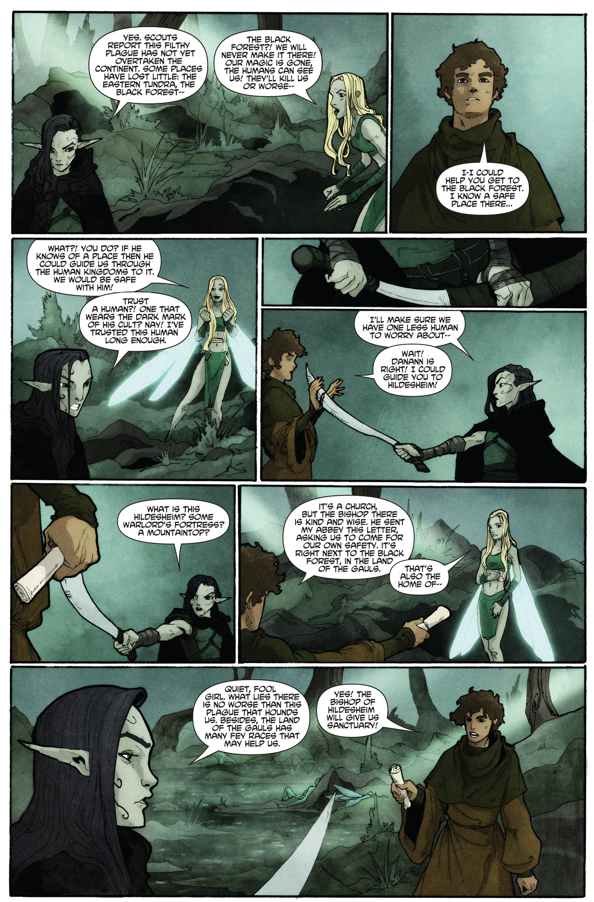 Read online Plague comic -  Issue #2 - 22