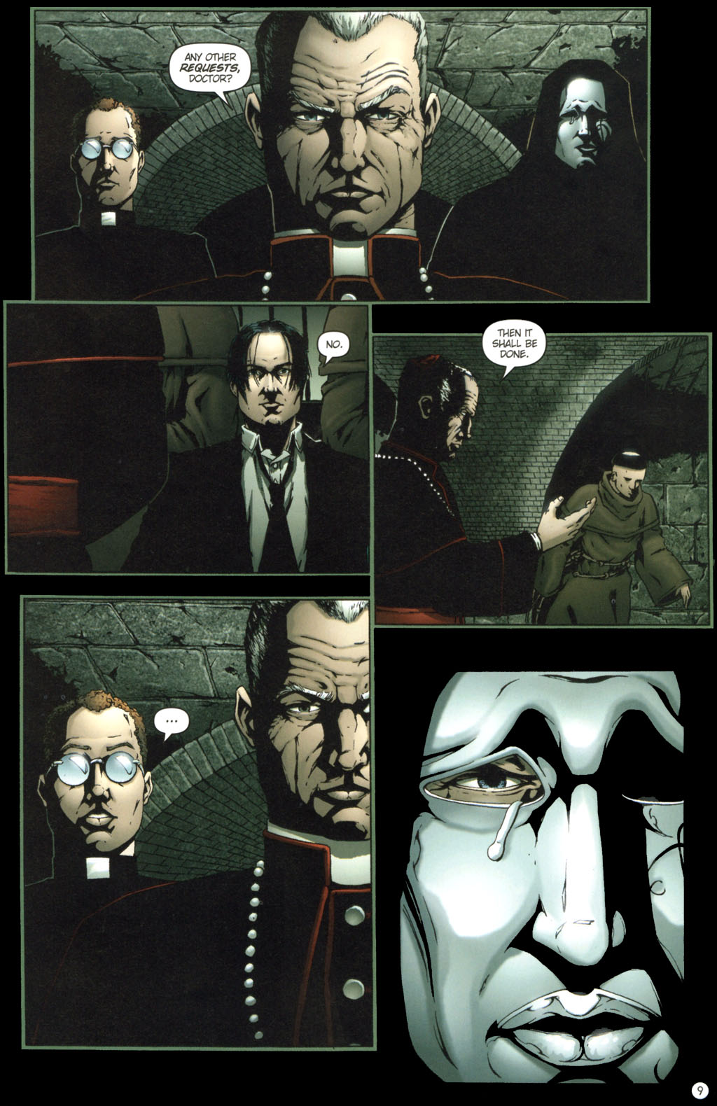 Read online Rex Mundi comic -  Issue #11 - 13