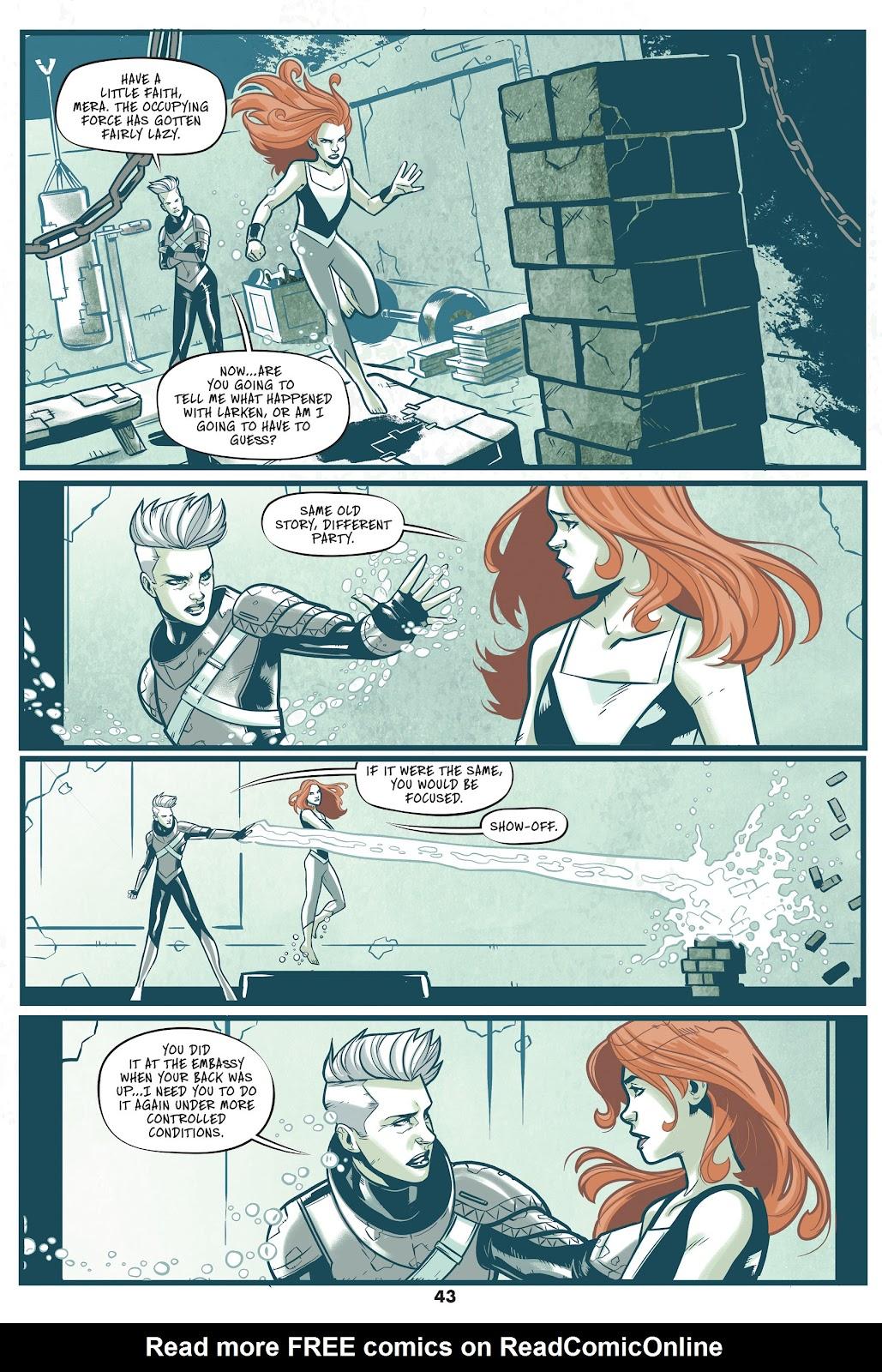 Read online Mera: Tidebreaker comic -  Issue # TPB (Part 1) - 43