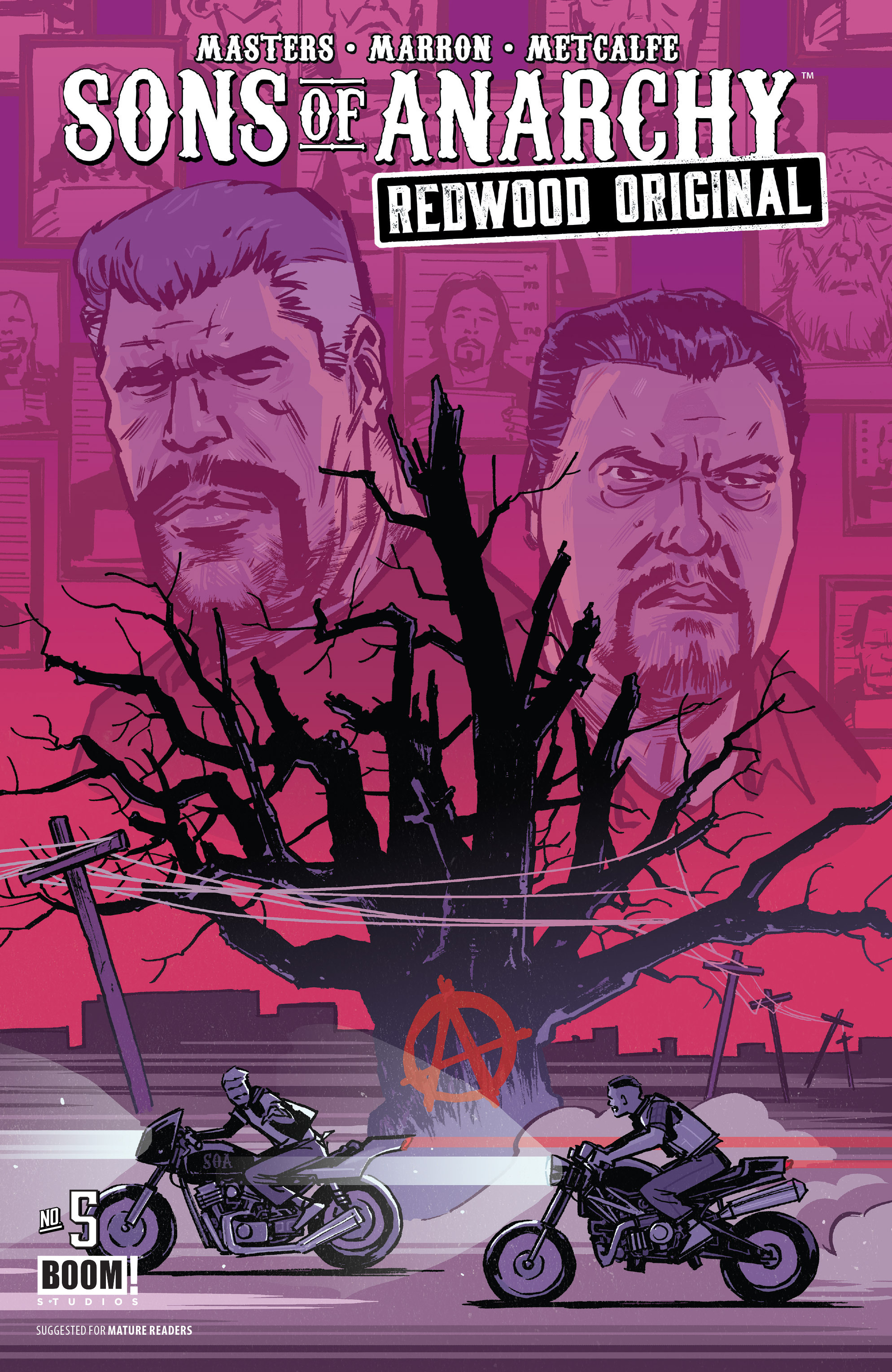 Read online Sons of Anarchy: Redwood Original comic -  Issue #5 - 1