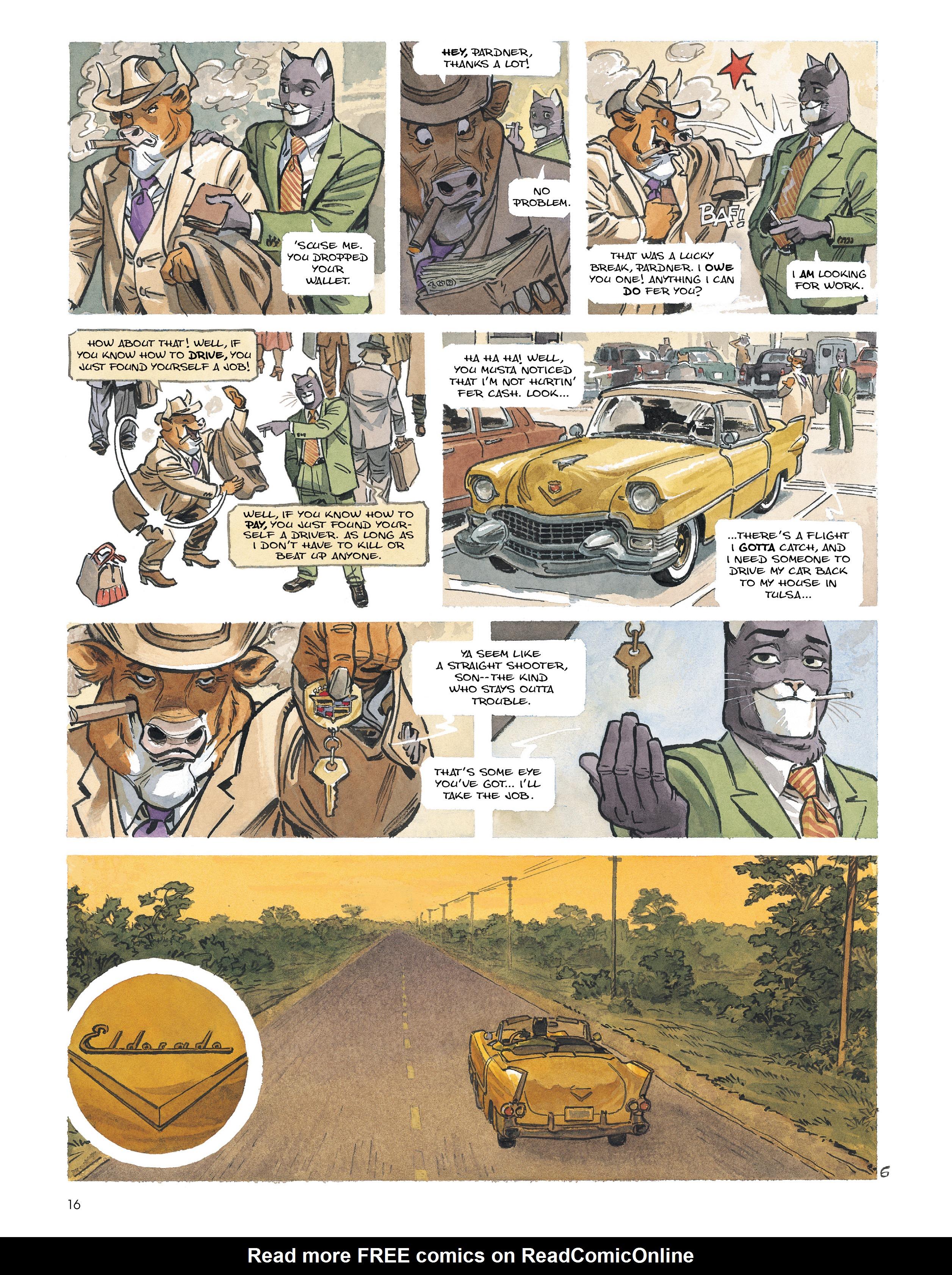 Read online Blacksad: Amarillo comic -  Issue # Full - 15