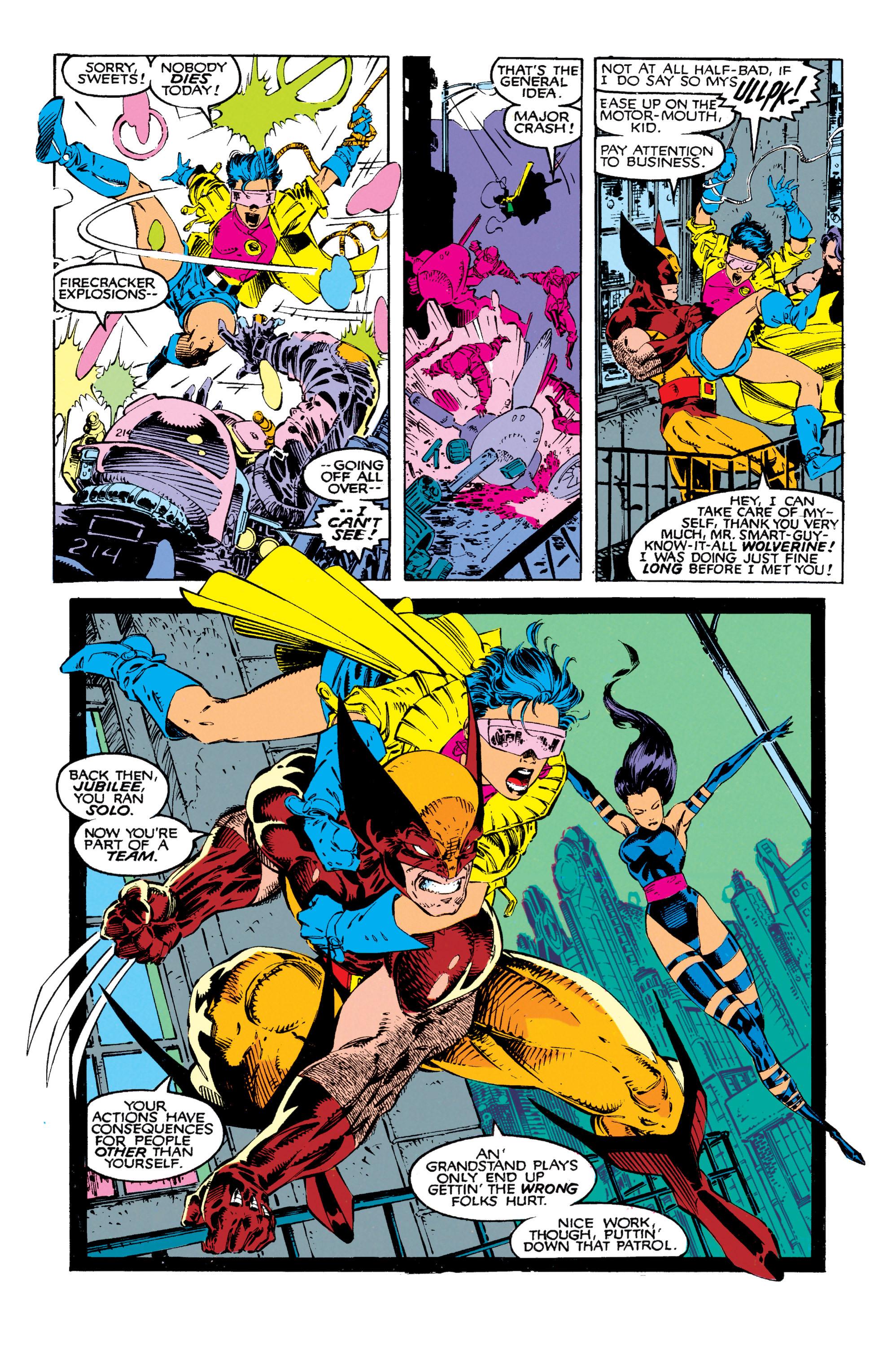Read online Uncanny X-Men (1963) comic -  Issue #271 - 4