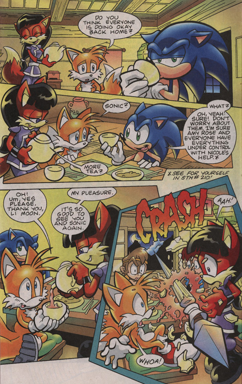 Read online Sonic Universe comic -  Issue #13 - 21
