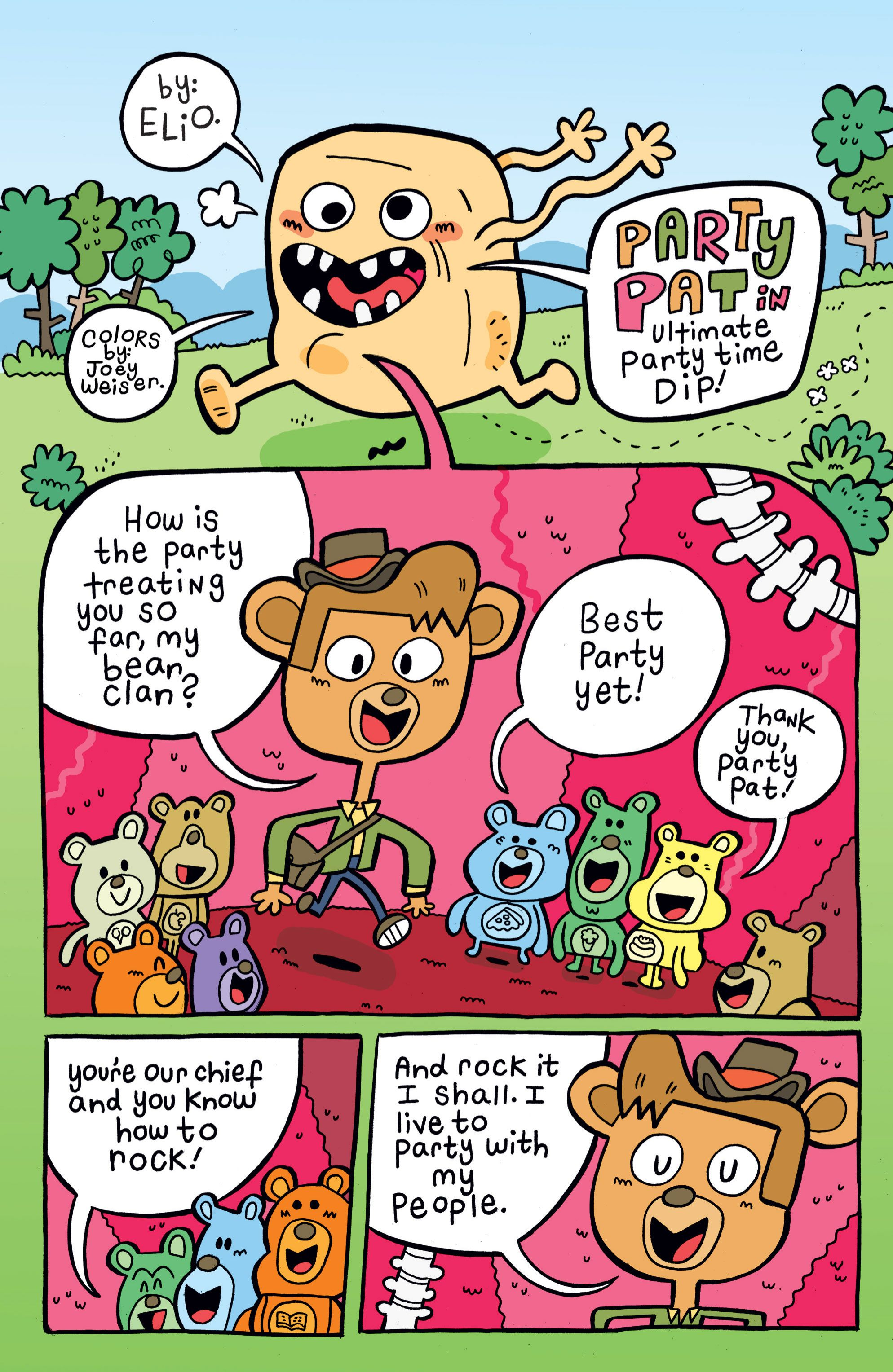 Read online Adventure Time comic -  Issue #4 - 20