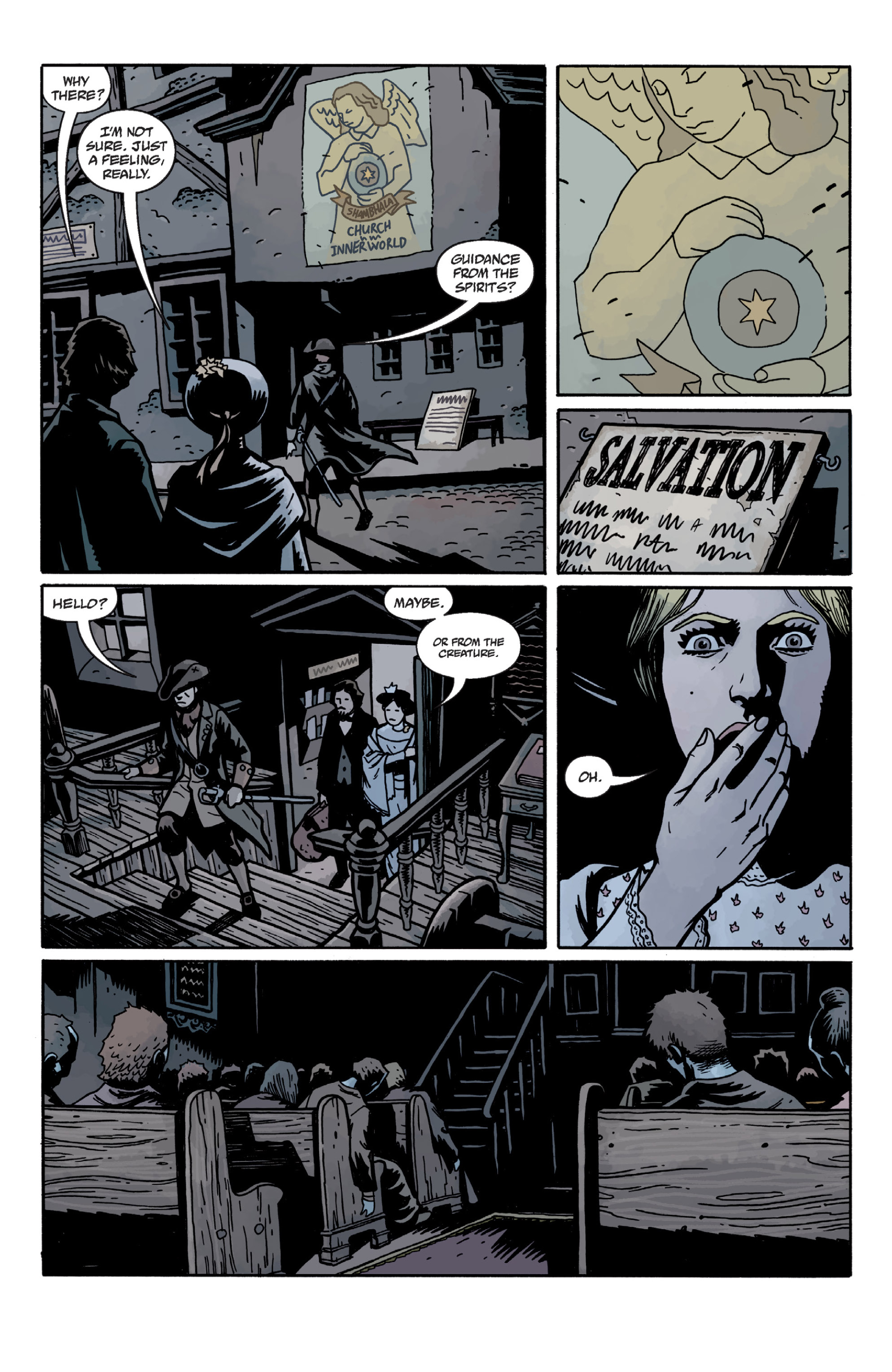 Read online Sir Edward Grey, Witchfinder: In the Service of Angels comic -  Issue # TPB - 69