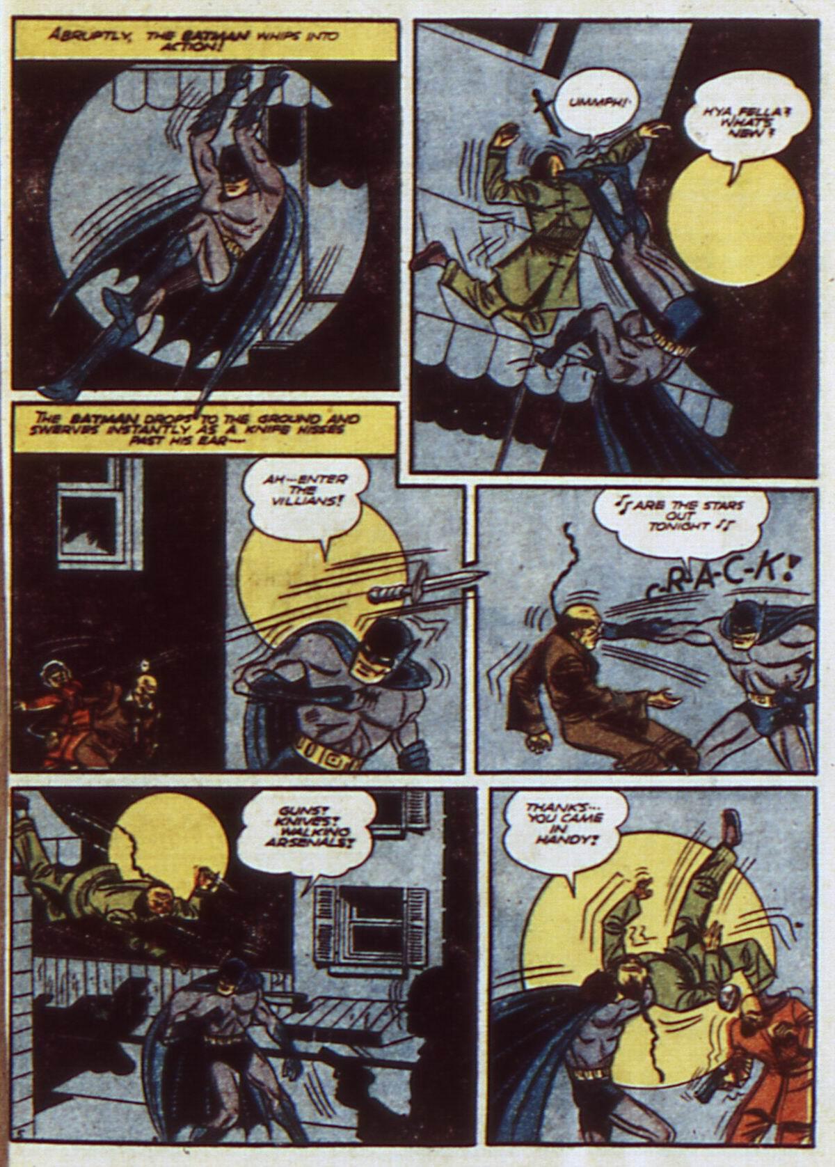 Read online Detective Comics (1937) comic -  Issue #52 - 7