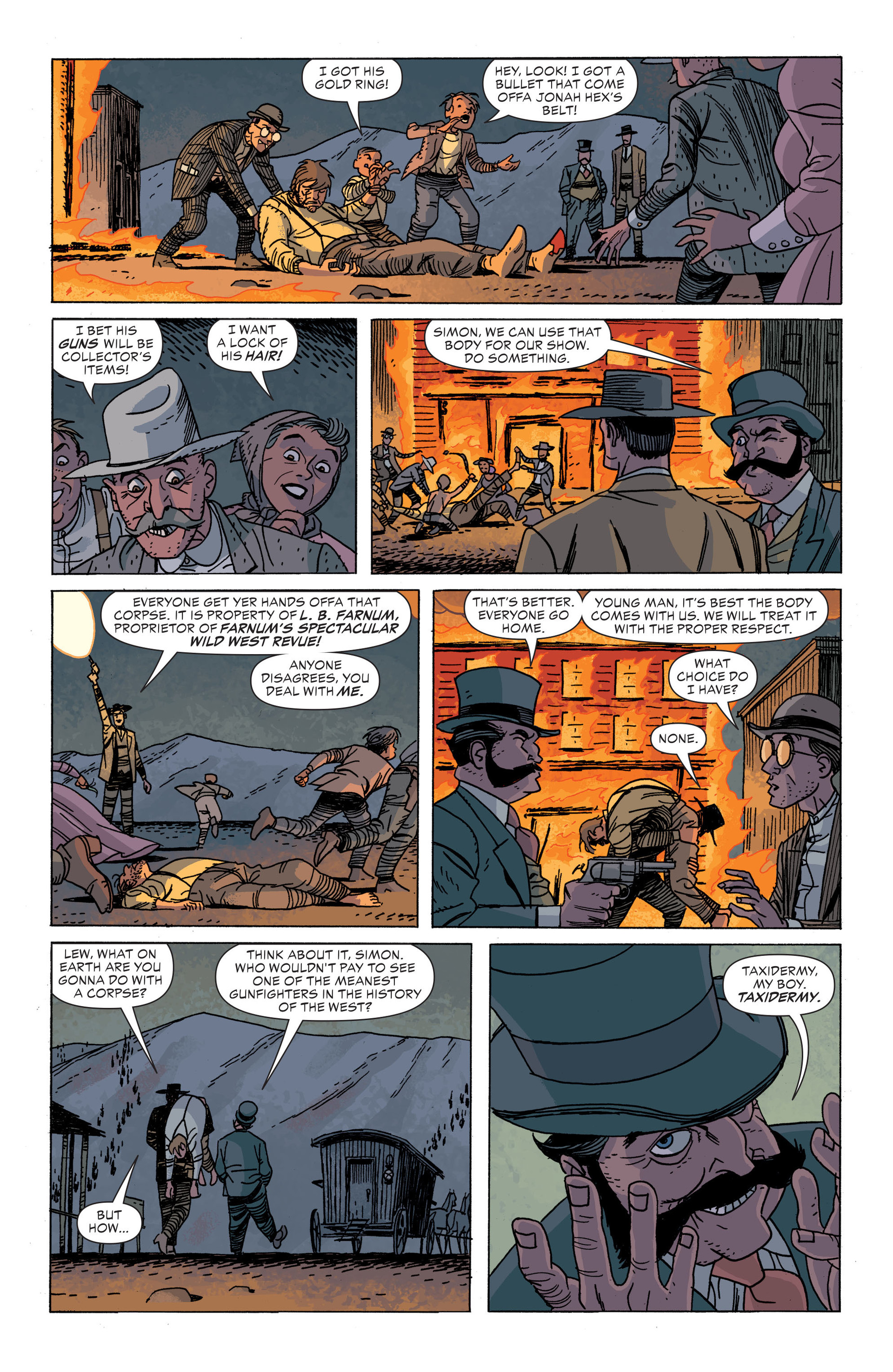 Read online All-Star Western (2011) comic -  Issue #34 - 19
