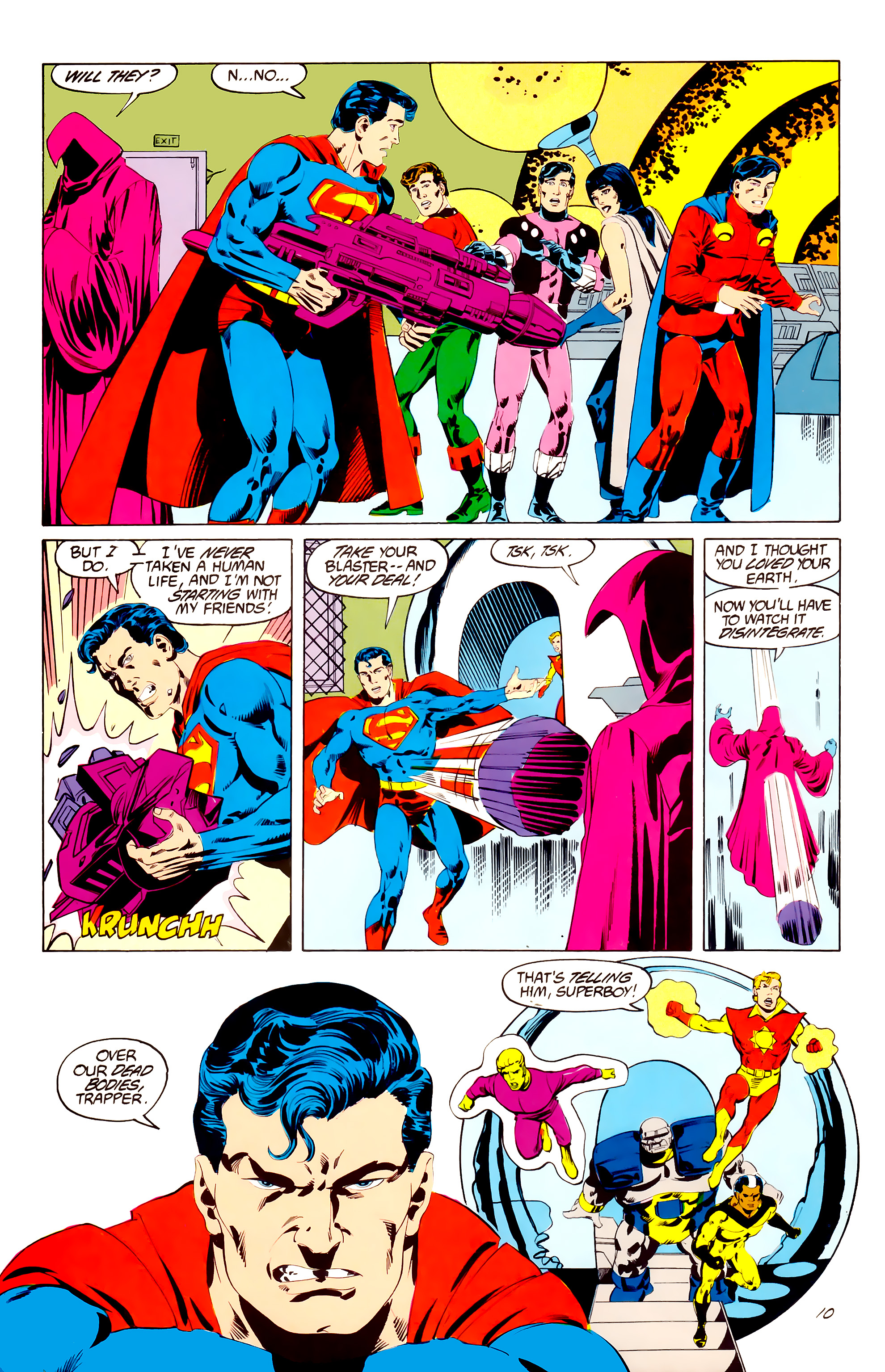Legion of Super-Heroes (1984) 38 Page 10