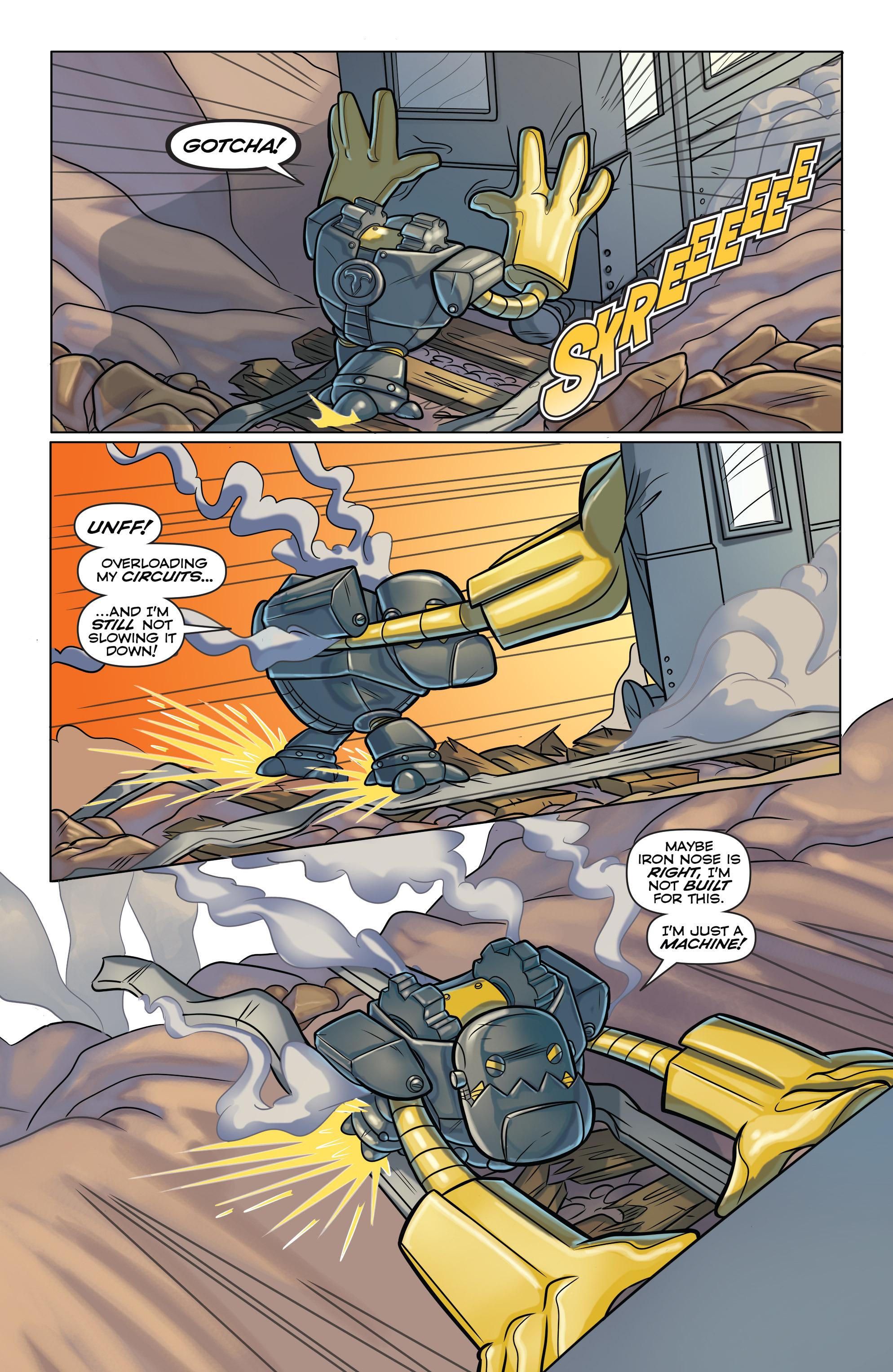 Read online Skylanders comic -  Issue #6 - 14