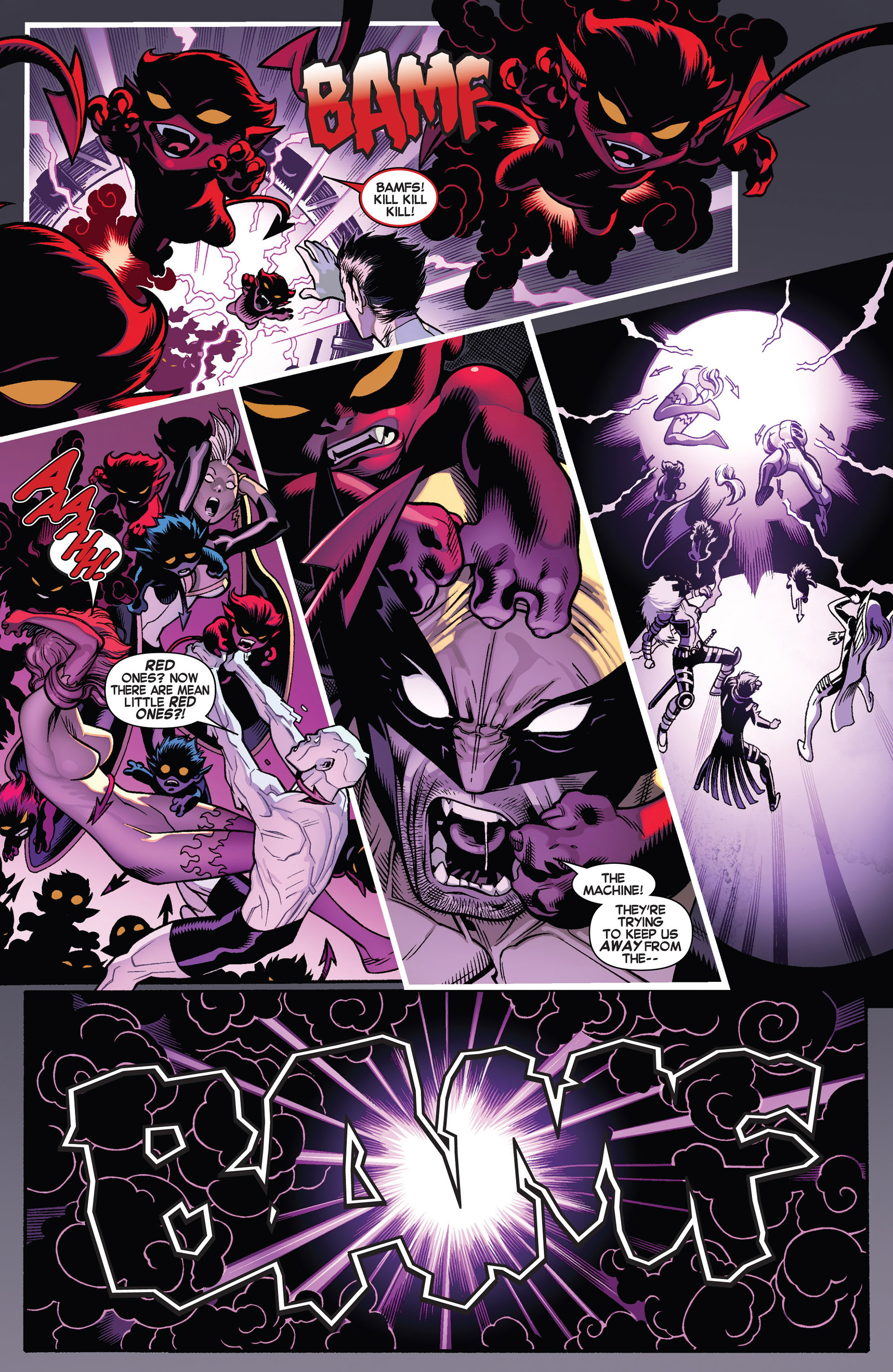 Read online Amazing X-Men (2014) comic -  Issue #1 - 22