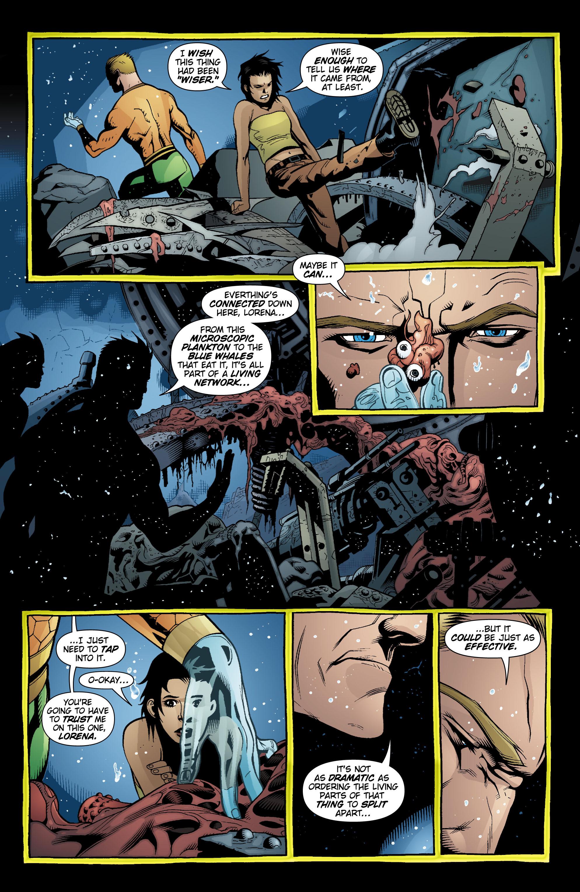 Read online Aquaman (2003) comic -  Issue #18 - 16