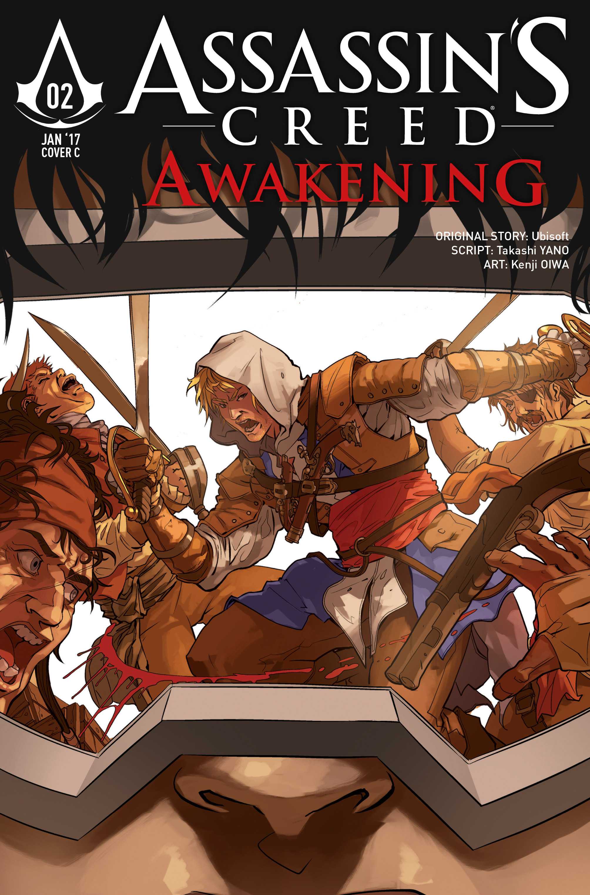 Read online Assassin's Creed: Awakening comic -  Issue #2 - 31