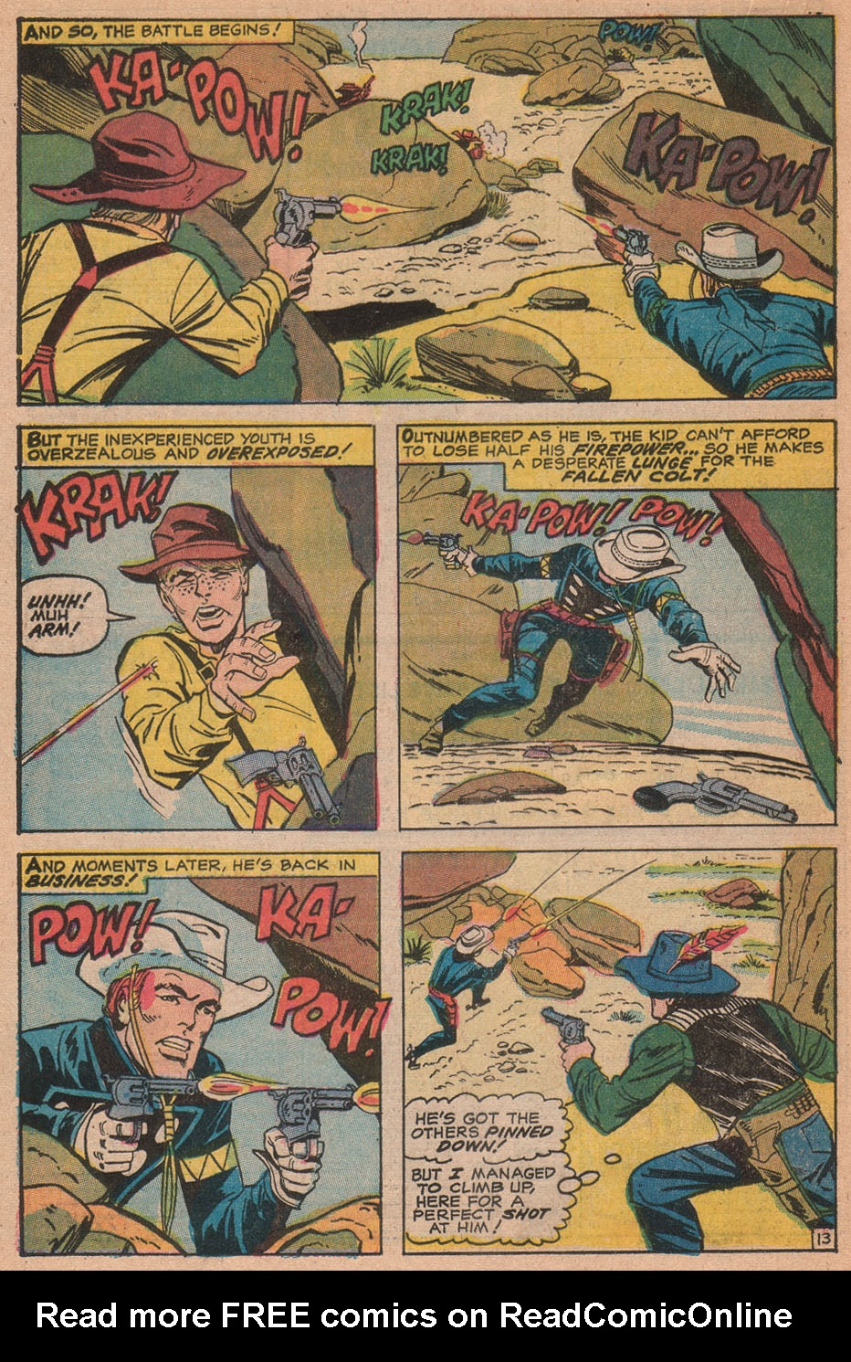 The Rawhide Kid (1955) issue 88 - Page 20