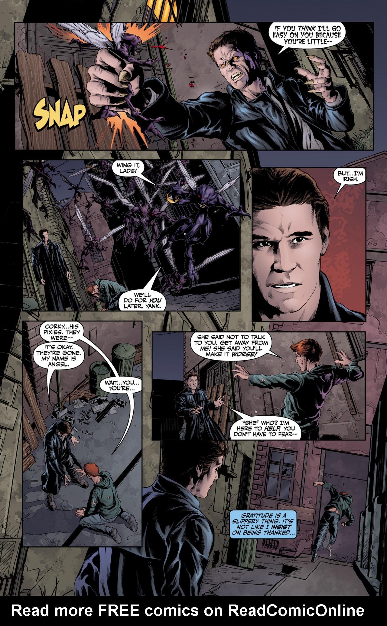Read online Angel & Faith Season 10 comic -  Issue #1 - 8