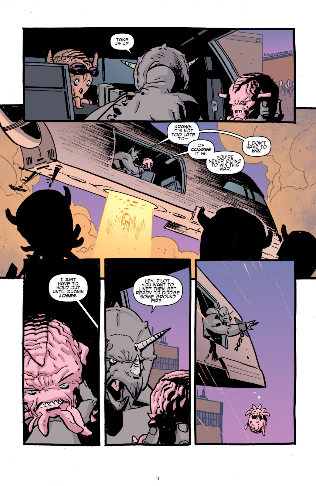 Read online Teenage Mutant Ninja Turtles: The IDW Collection comic -  Issue # TPB 4 (Part 1) - 94
