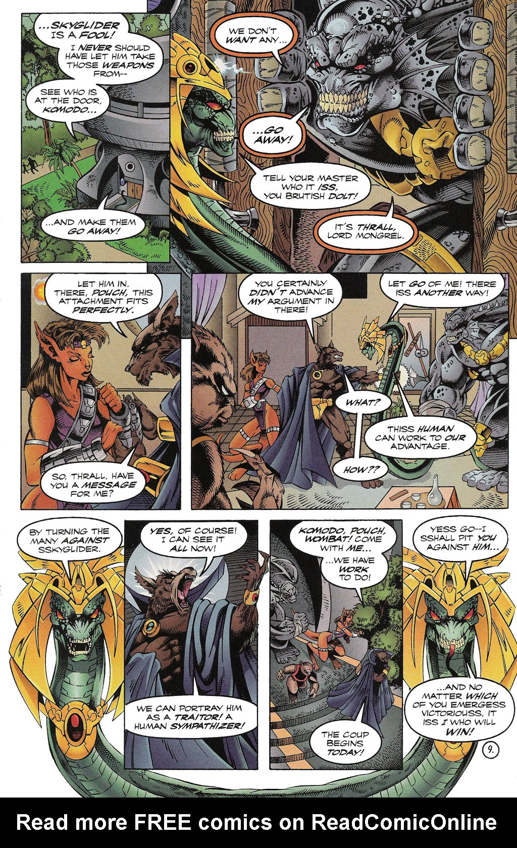 Read online ShadowHawk comic -  Issue #15 - 10