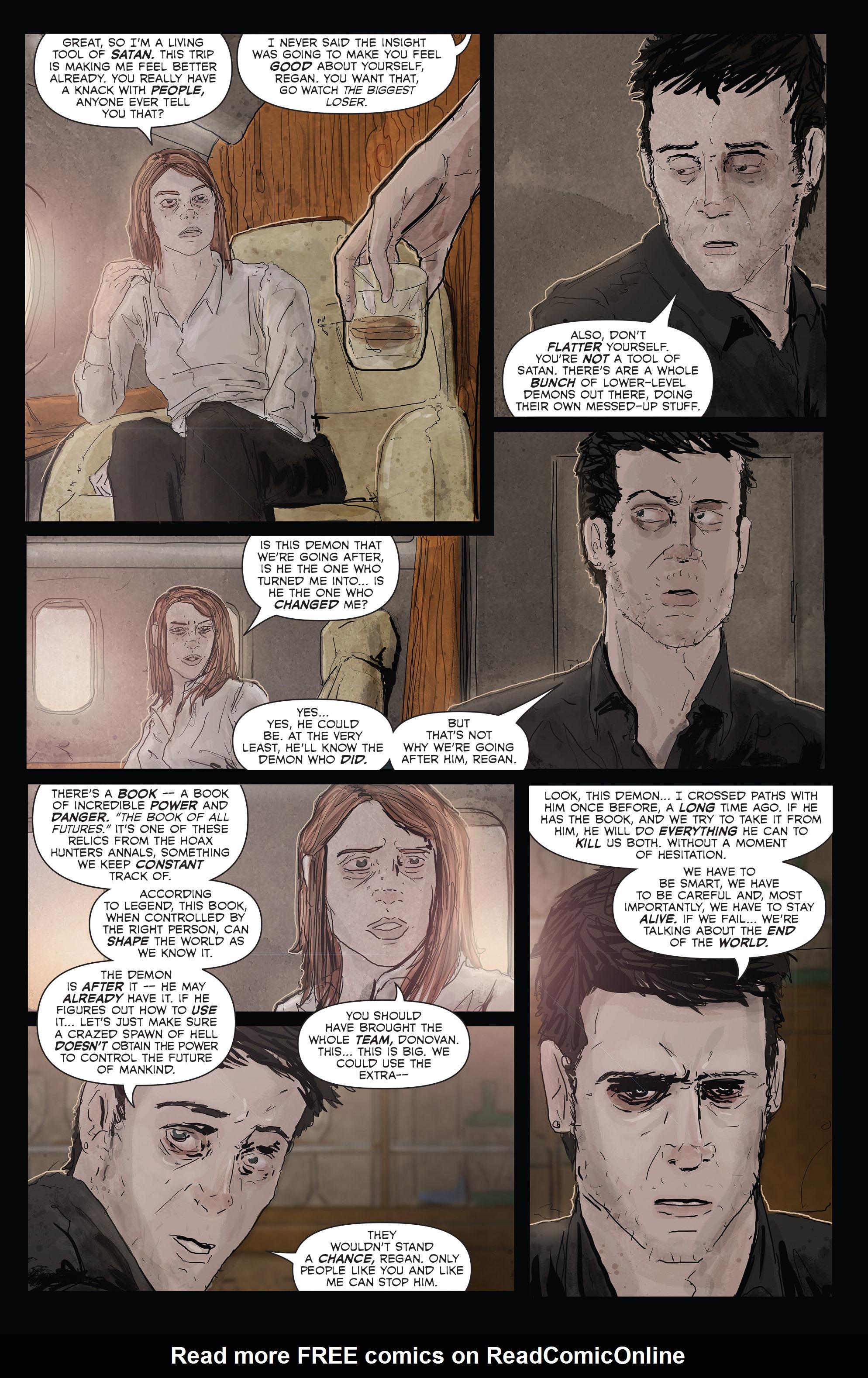 Read online Hoax Hunters (2012) comic -  Issue # TPB 3 - 21