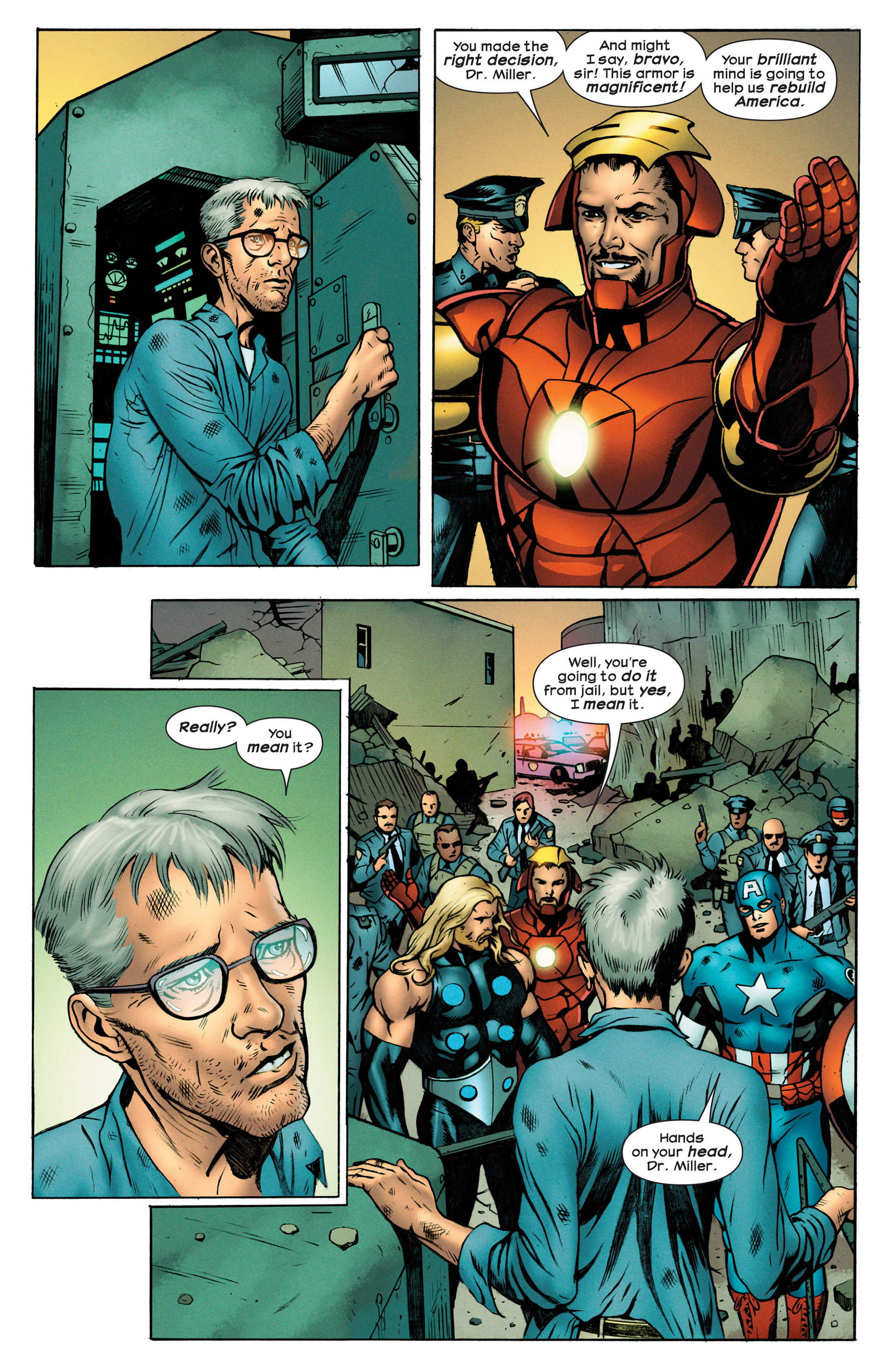 Read online Ultimate Comics Ultimates comic -  Issue #18.1 - 20