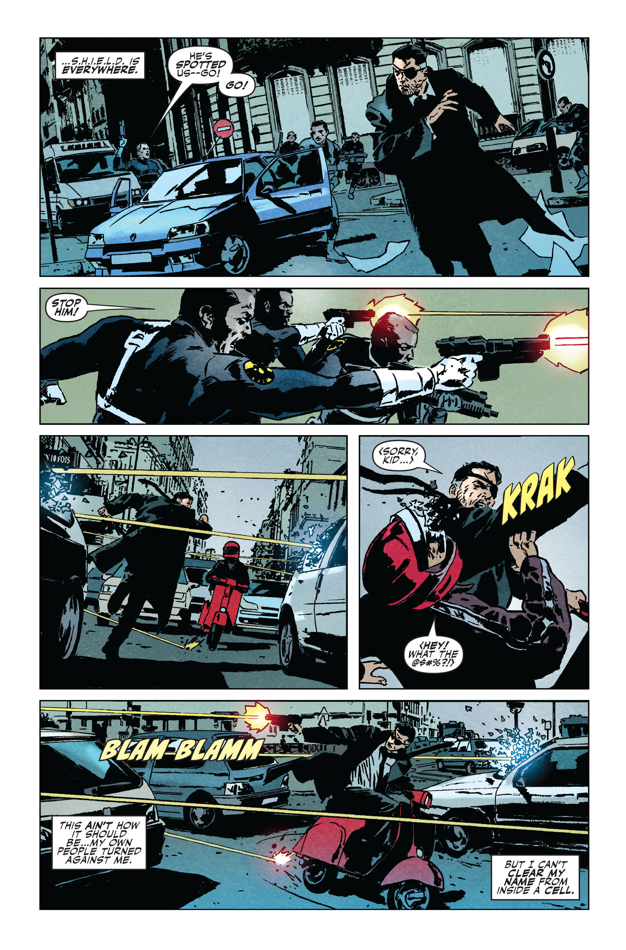 Read online Secret Avengers (2010) comic -  Issue #5 - 4