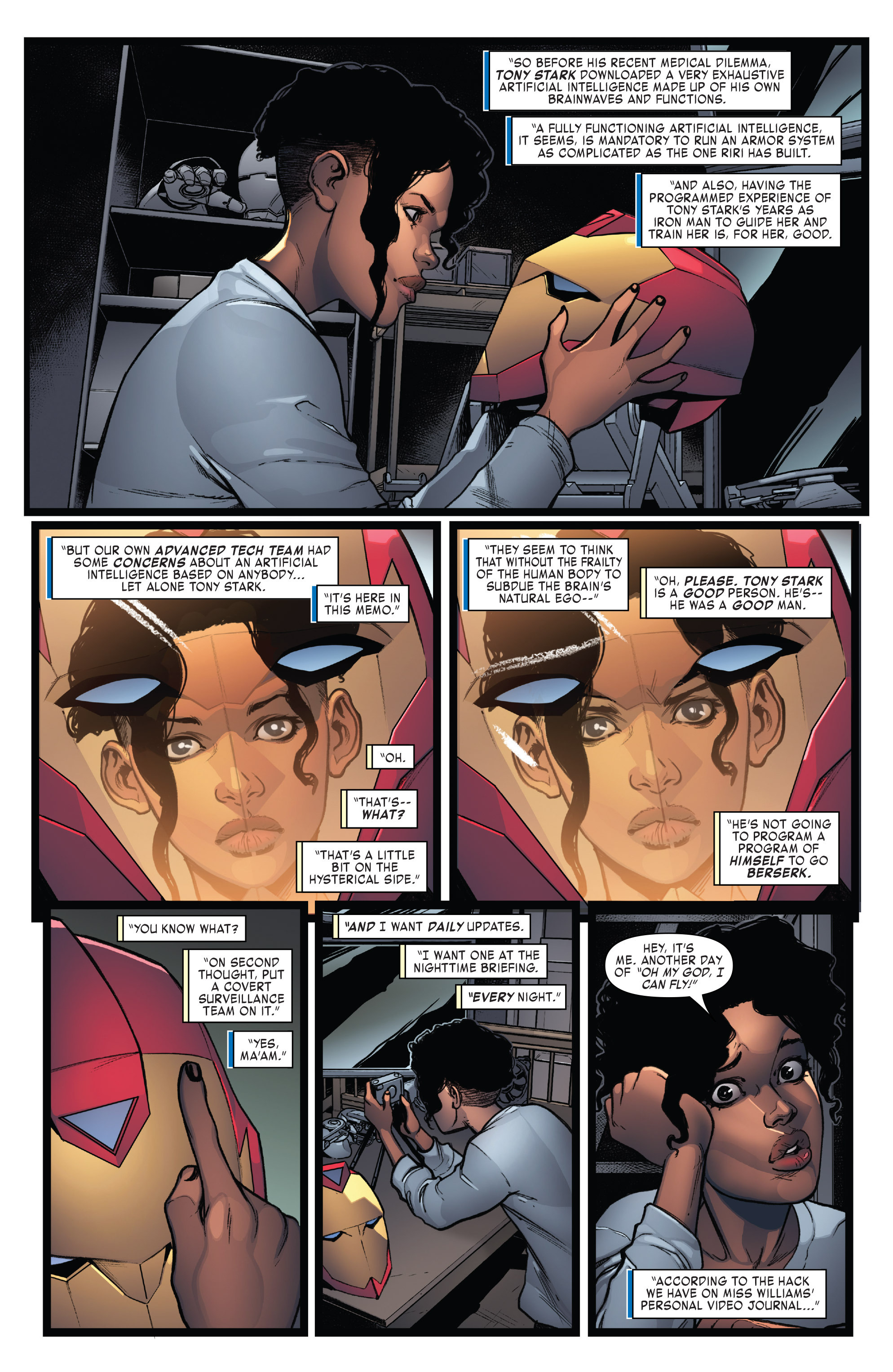 Read online Invincible Iron Man (2016) comic -  Issue #7 - 5