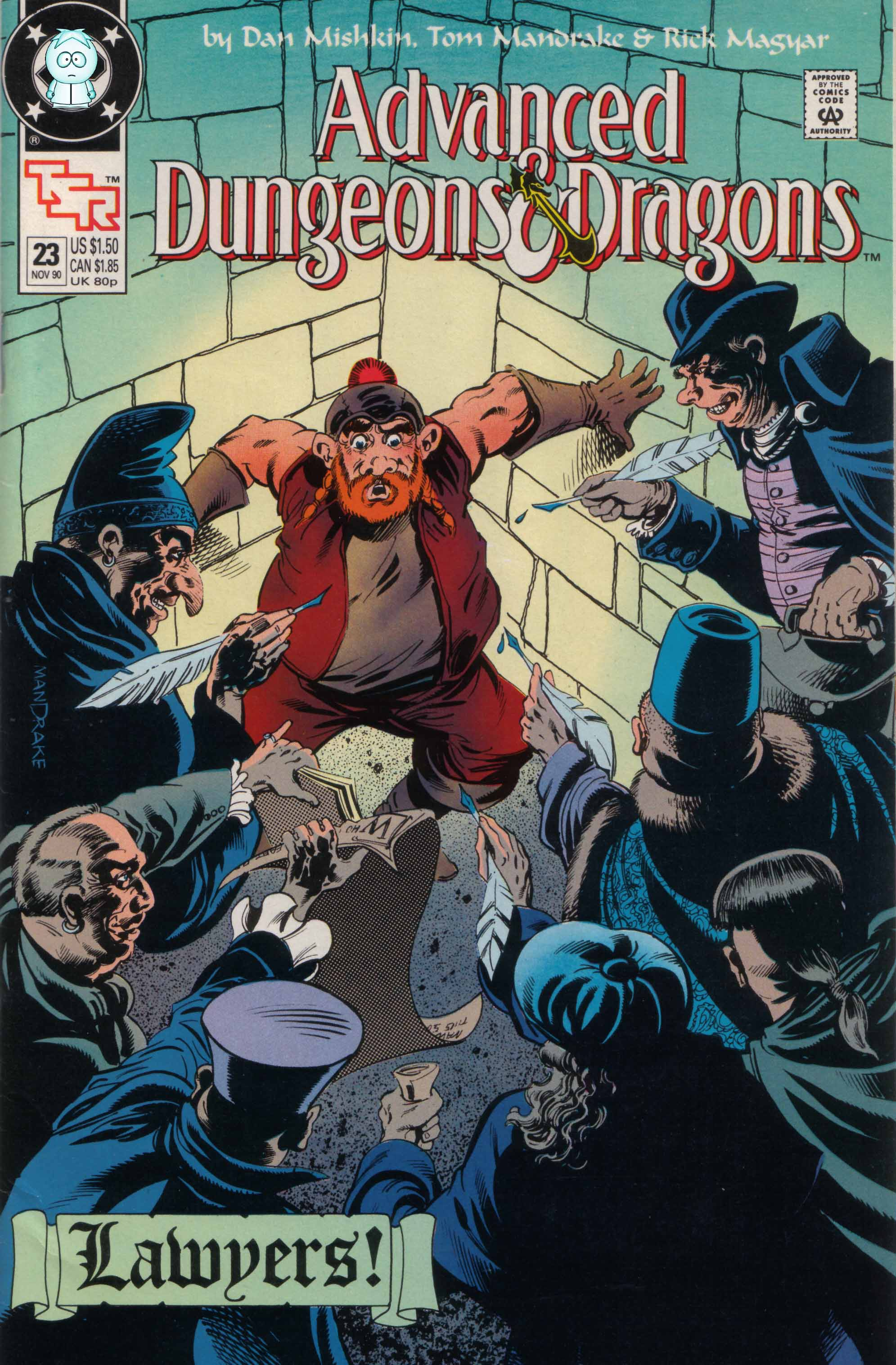 Read online Advanced Dungeons & Dragons comic -  Issue #23 - 1