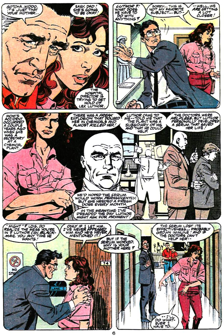 Read online Adventures of Superman (1987) comic -  Issue #472 - 7