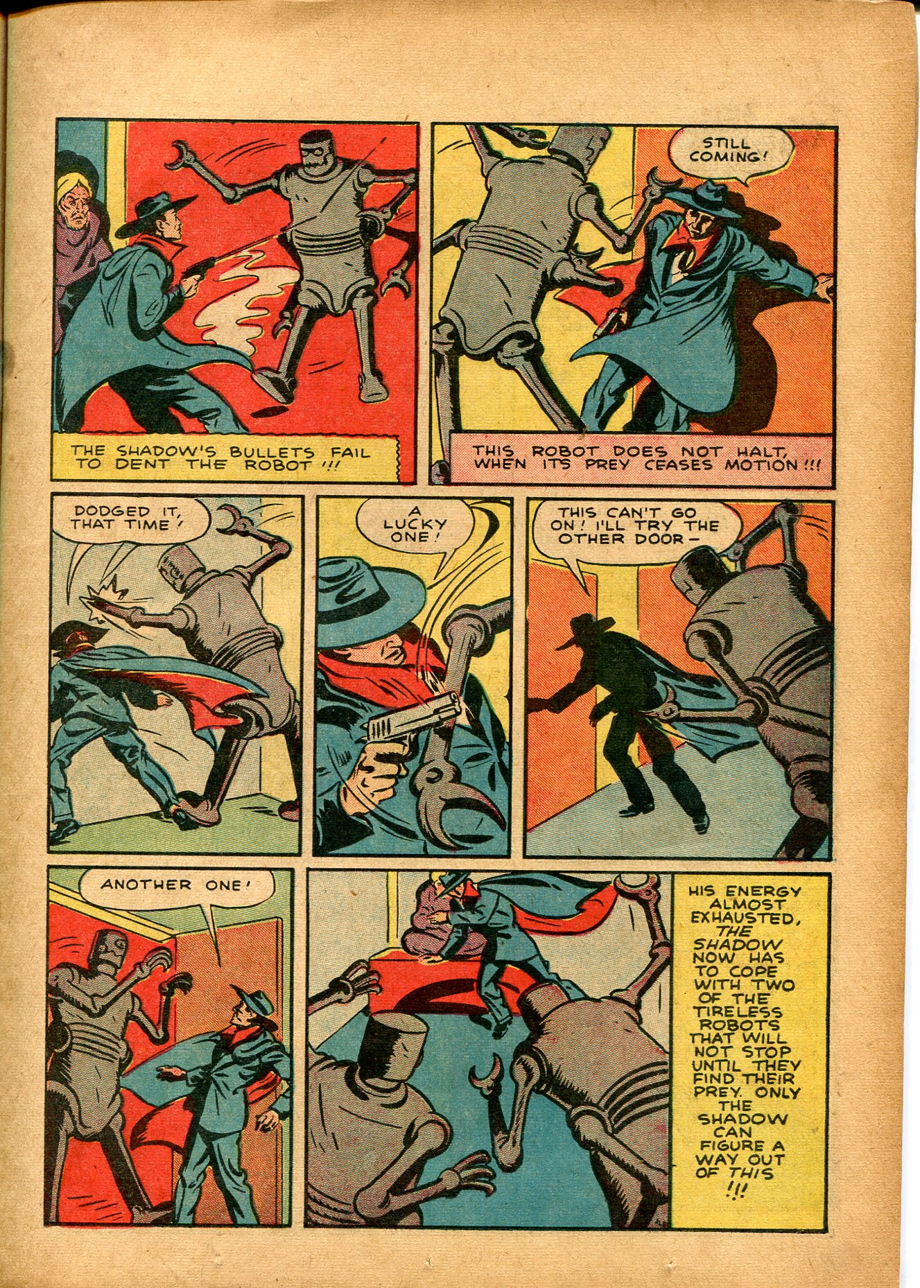 Read online Shadow Comics comic -  Issue #8 - 19