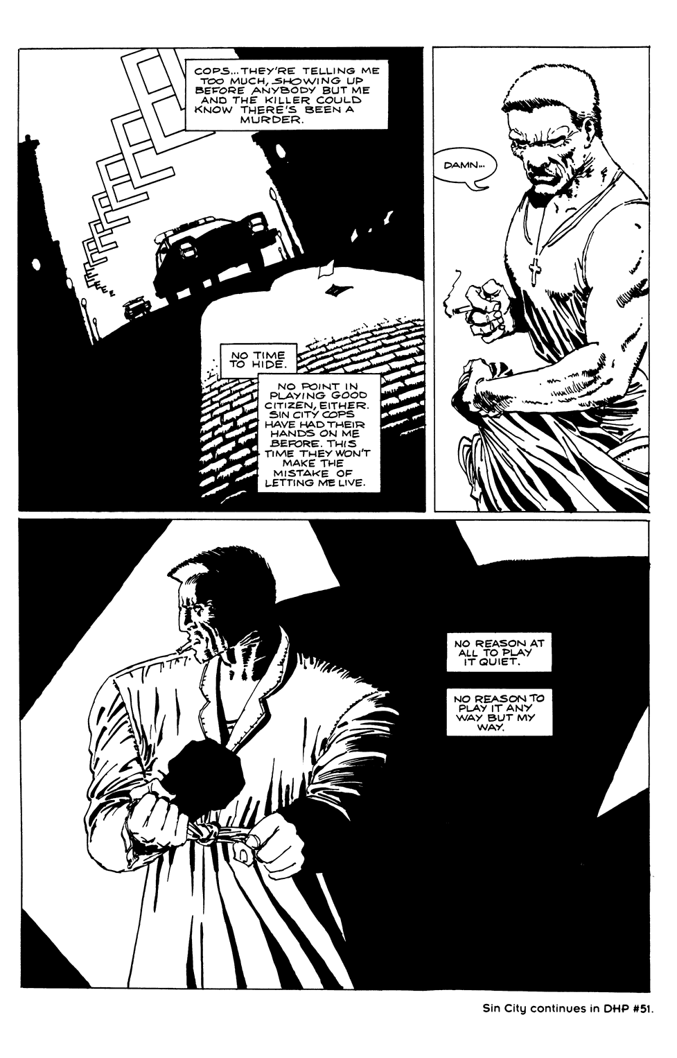 Read online Sin City comic -  Issue #1 - 8
