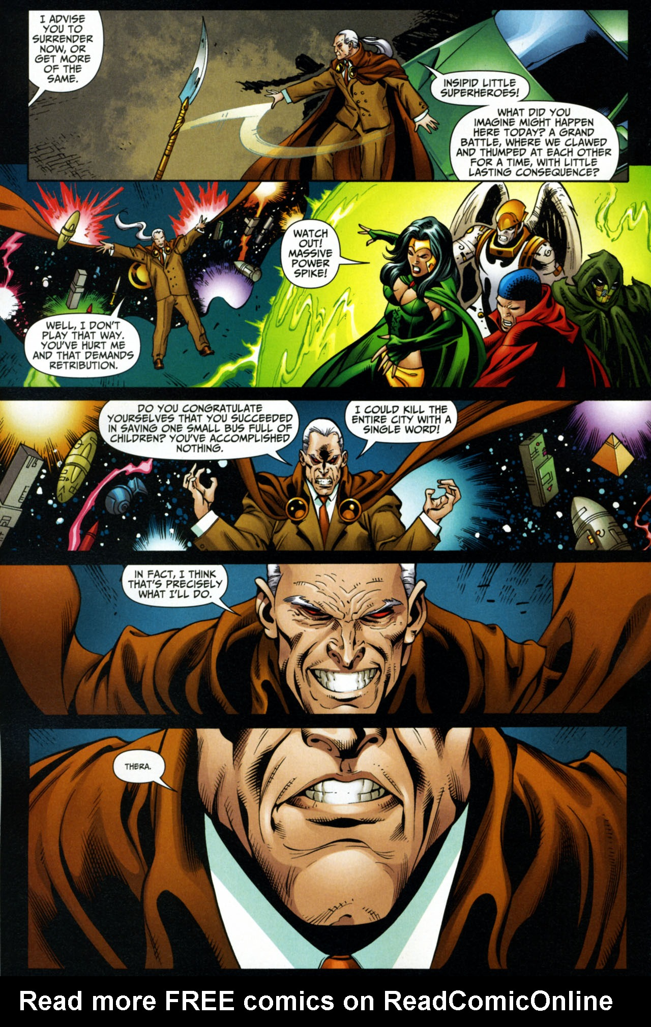 Read online Shadowpact comic -  Issue #15 - 16