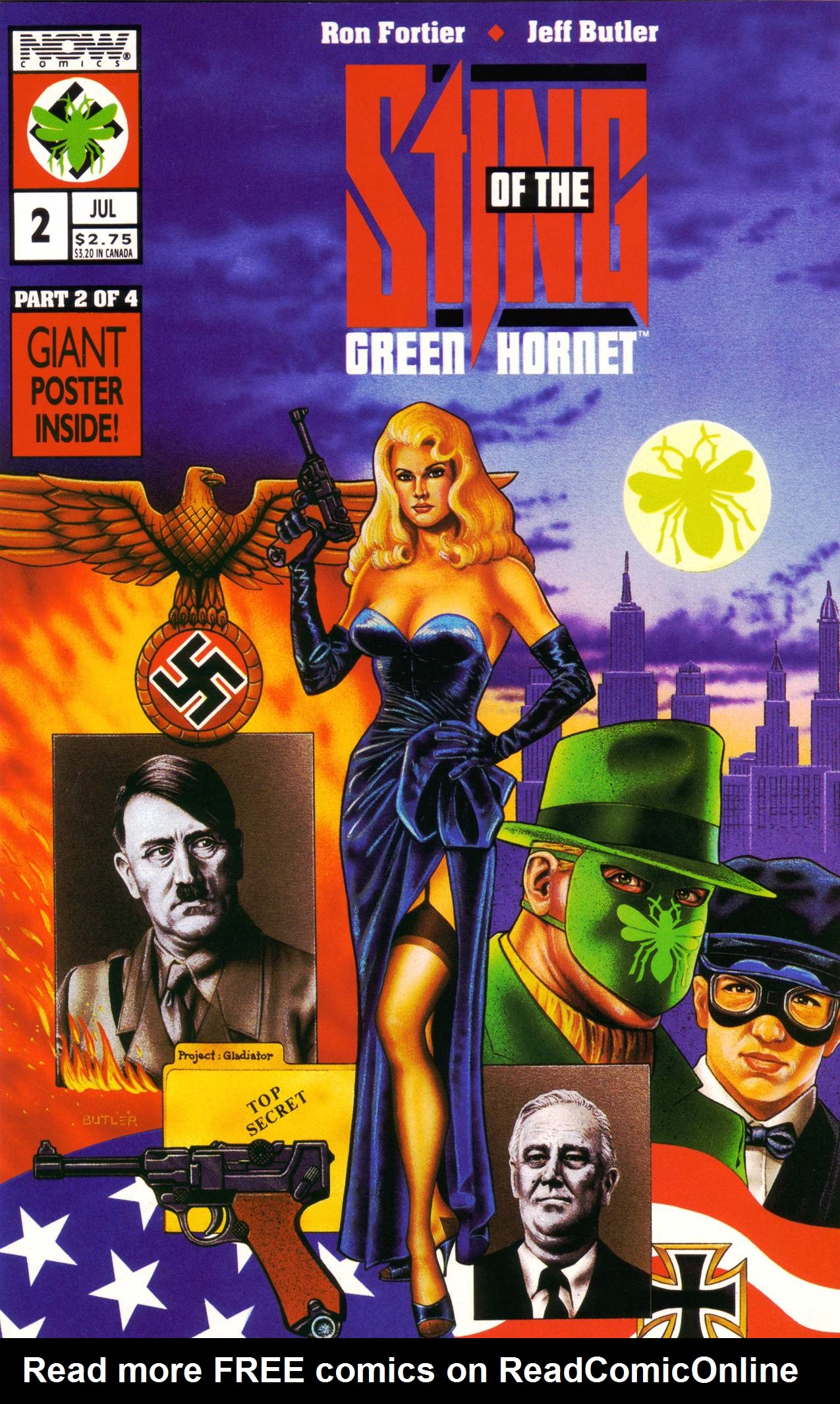 Read online Sting of The Green Hornet comic -  Issue #2 - 1