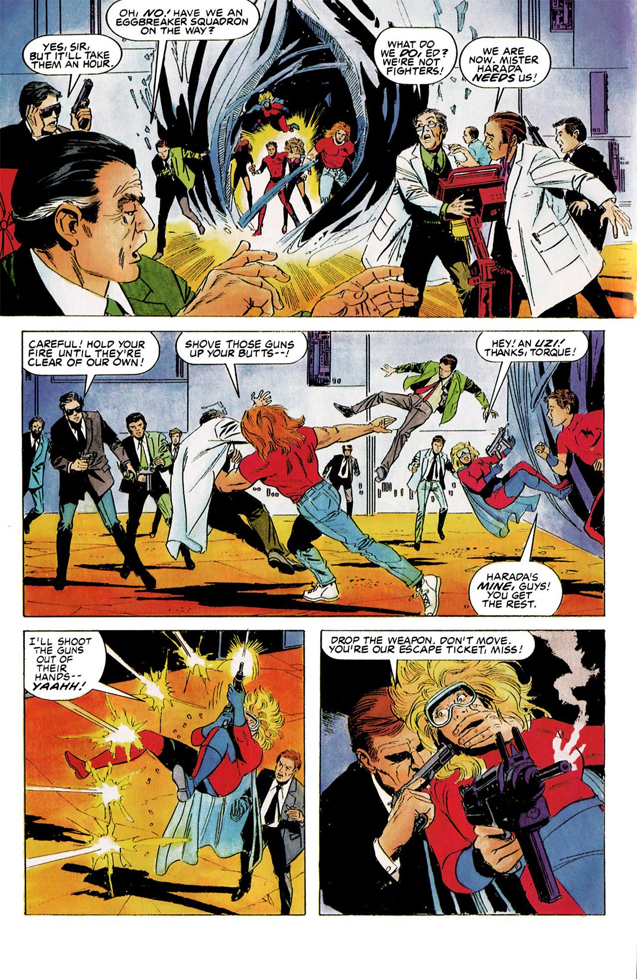 Read online Harbinger (1992) comic -  Issue #5 - 14