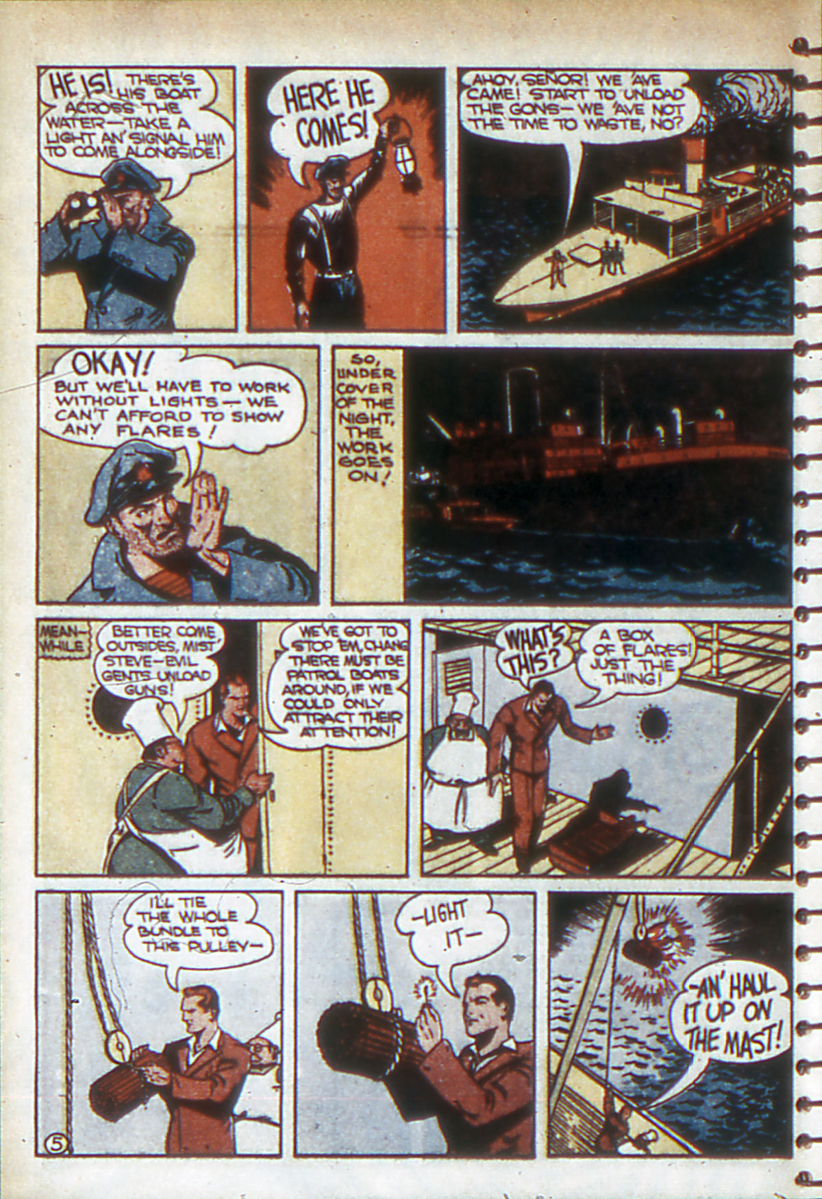 Read online Adventure Comics (1938) comic -  Issue #53 - 45