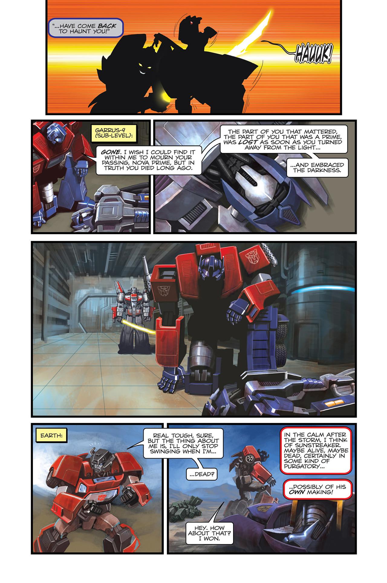 Read online Transformers Spotlight: Sideswipe comic -  Issue # Full - 24
